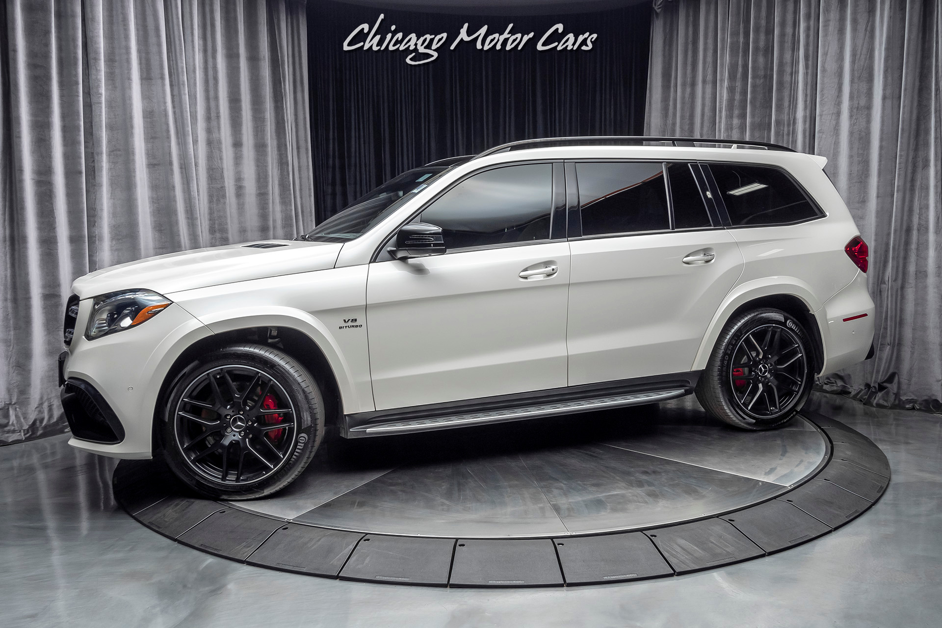 Used 2019 Mercedes Benz Gls63 Amg Suv Matte Black Amg Wheels Low Miles For Sale Special Pricing Chicago Motor Cars Stock 17037