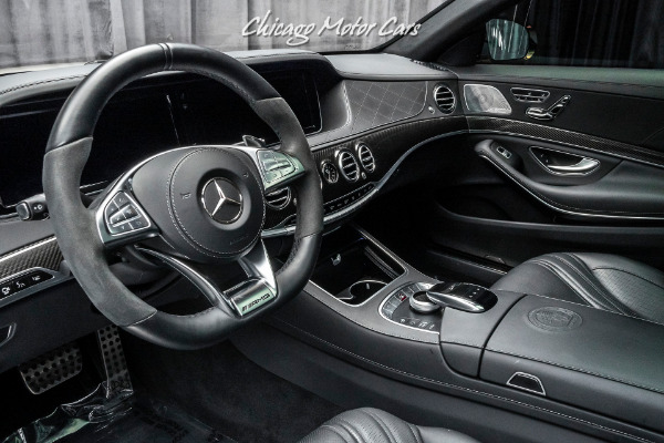Used-2016-Mercedes-Benz-S-Class-S63-AMG-Sedan-Only-12k-Miles-Carbon-Fiber-LOADED-Perfect
