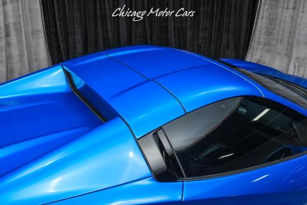 Used-2018-Ferrari-488-Spider-Convertible-Special-Request-Blu-Corsa-Paint-Carbon-Fiber-Lift
