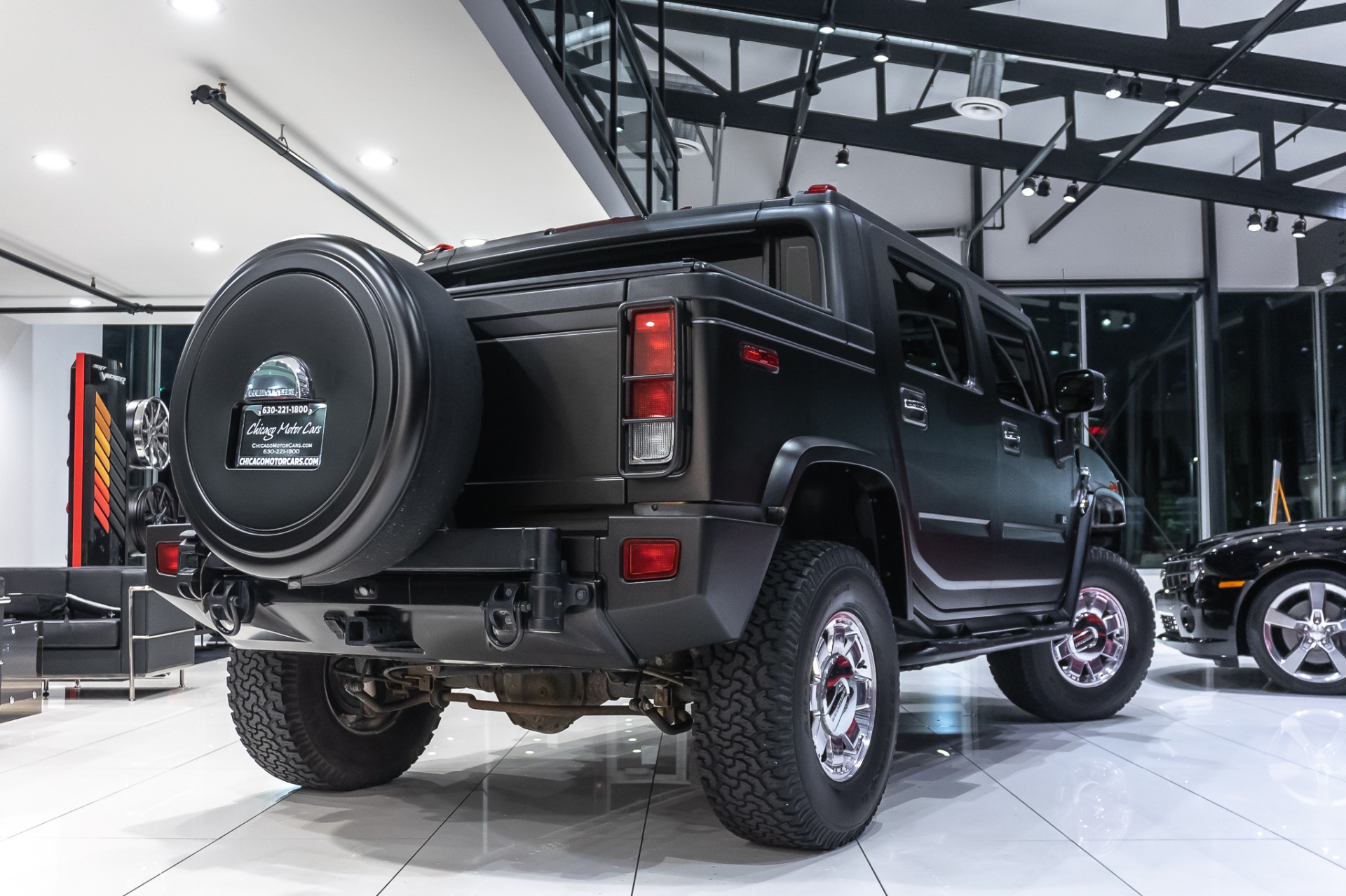 Used-2006-HUMMER-H2-SUT-Just-Wrapped-LOW-MILES-Rear-Entertainment-TVs