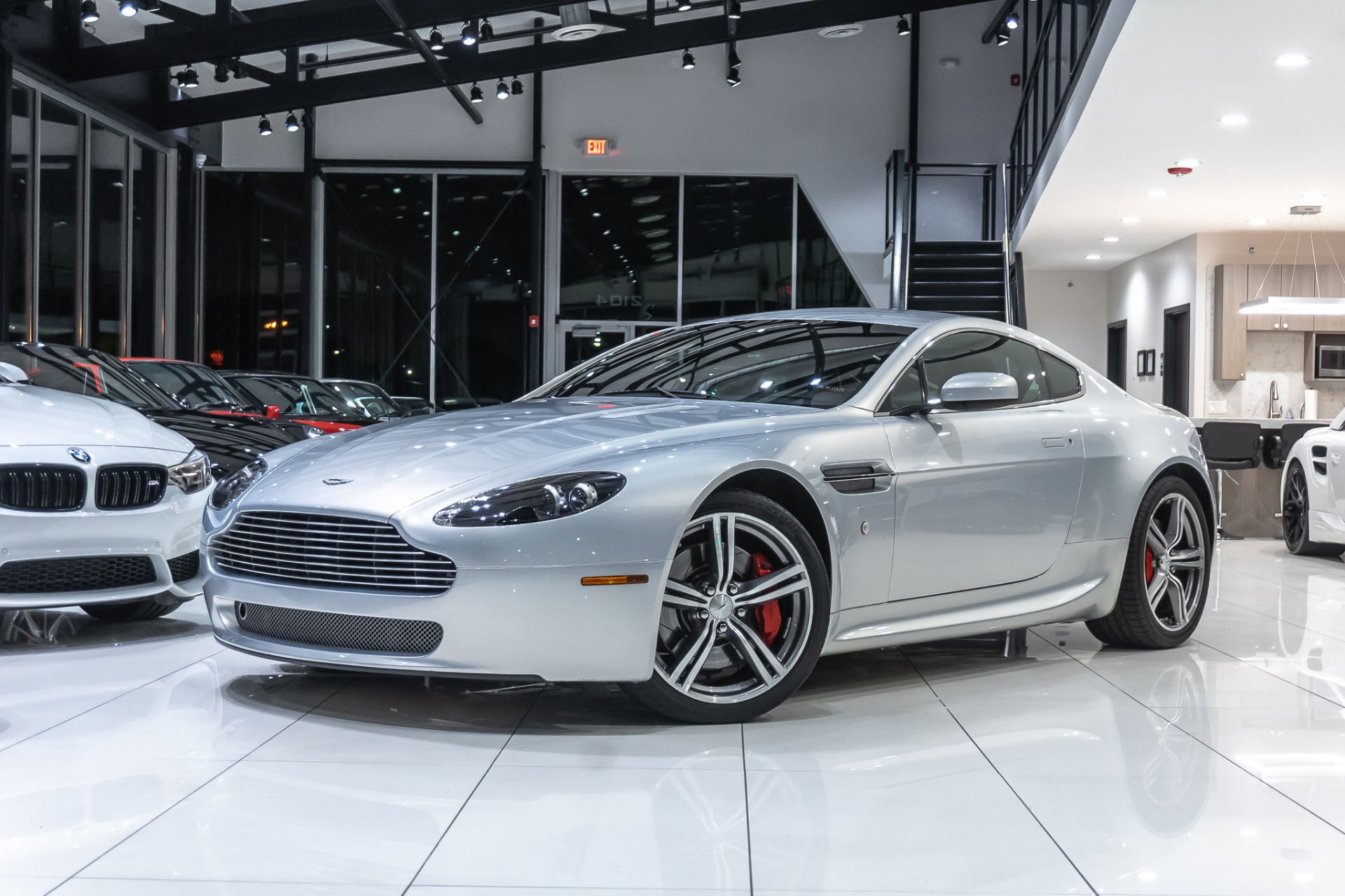Used 2008 Aston Martin V8 Vantage Coupe N400 6 Speed Rare 211 Of 240 For Sale 55 800 Chicago Motor Cars Stock 17282