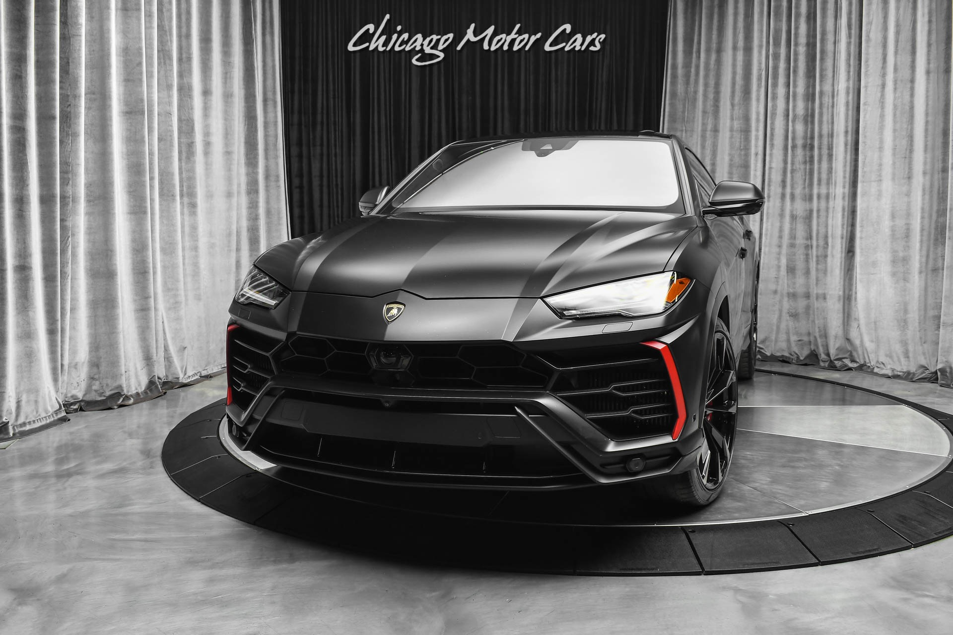 Used 2019 Lamborghini Urus Suv Msrp 243k Loaded W Options 23 Shiny Taigete Wheels For Sale Special Pricing Chicago Motor Cars Stock 17105