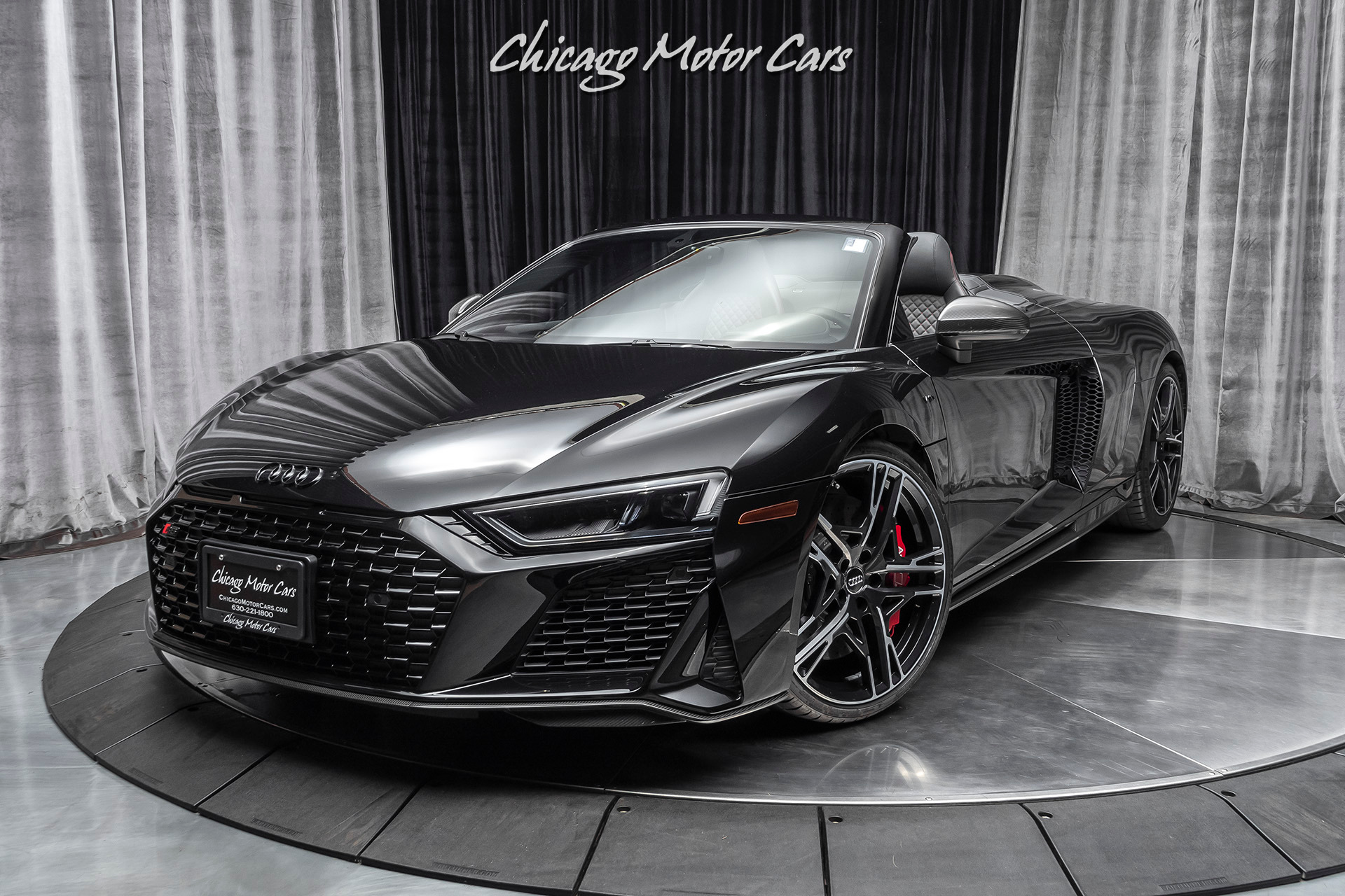 Used 2020 Audi R8 5 2 Quattro V10 Performance Convertible Spider For Sale Special Pricing Chicago Motor Cars Stock 17117