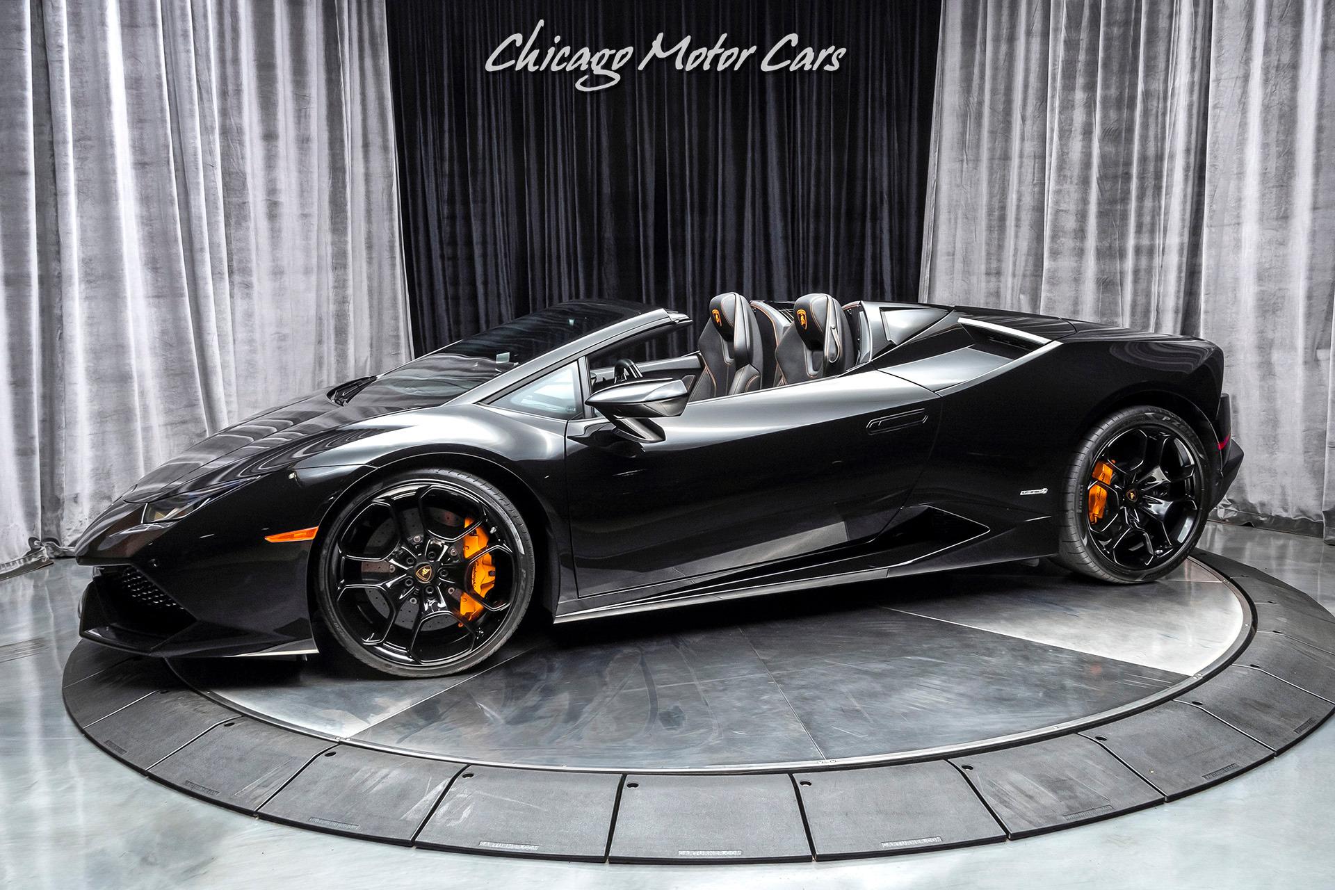 Used-2017-Lamborghini-Huracan-LP-610-4-Spyder-297kMSRP-Ad-Personam-Interior