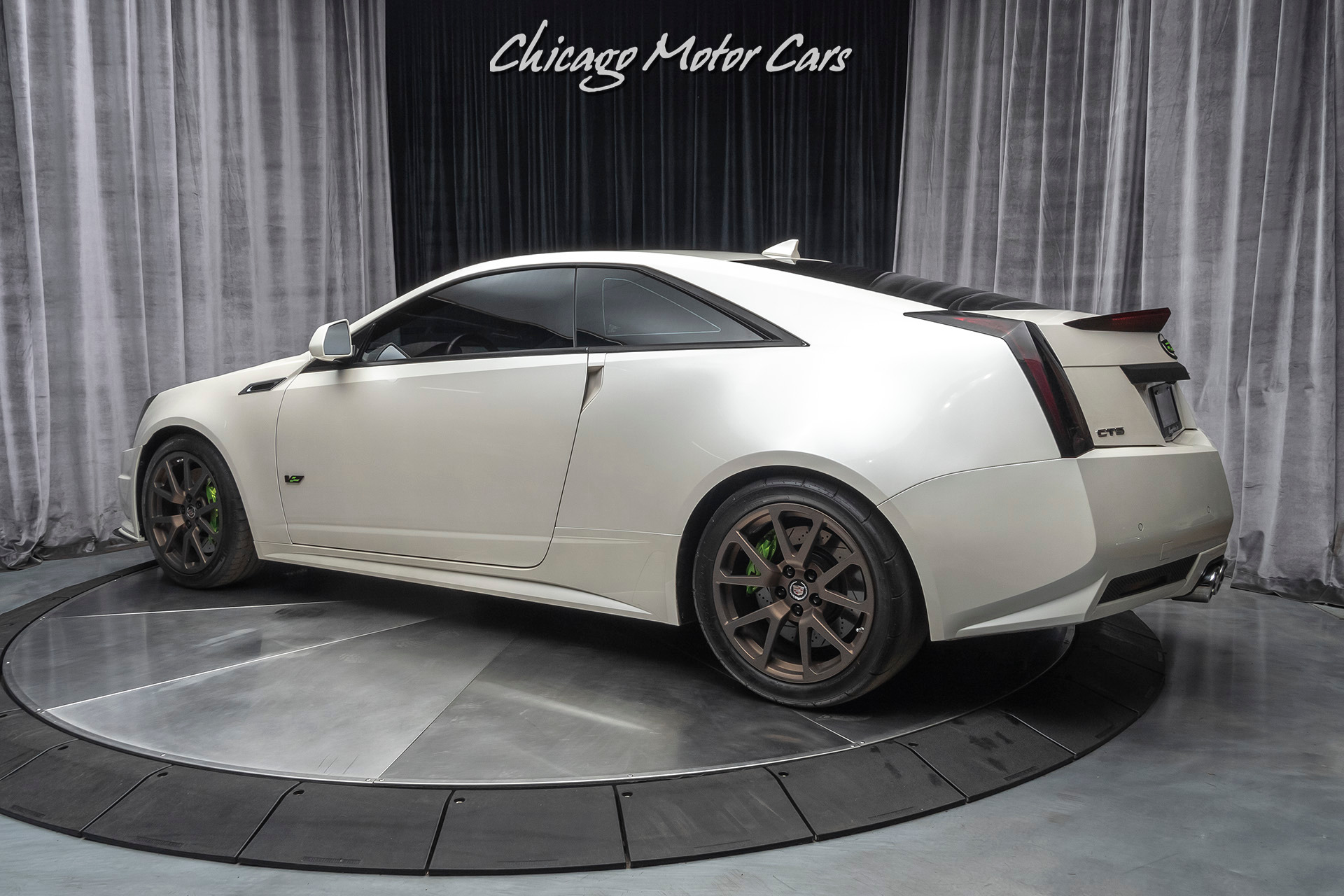 Used 2011 Cadillac Cts V Coupe 800 Horsepower Recaro Seats 22k Miles For Sale Special Pricing Chicago Motor Cars Stock 17157