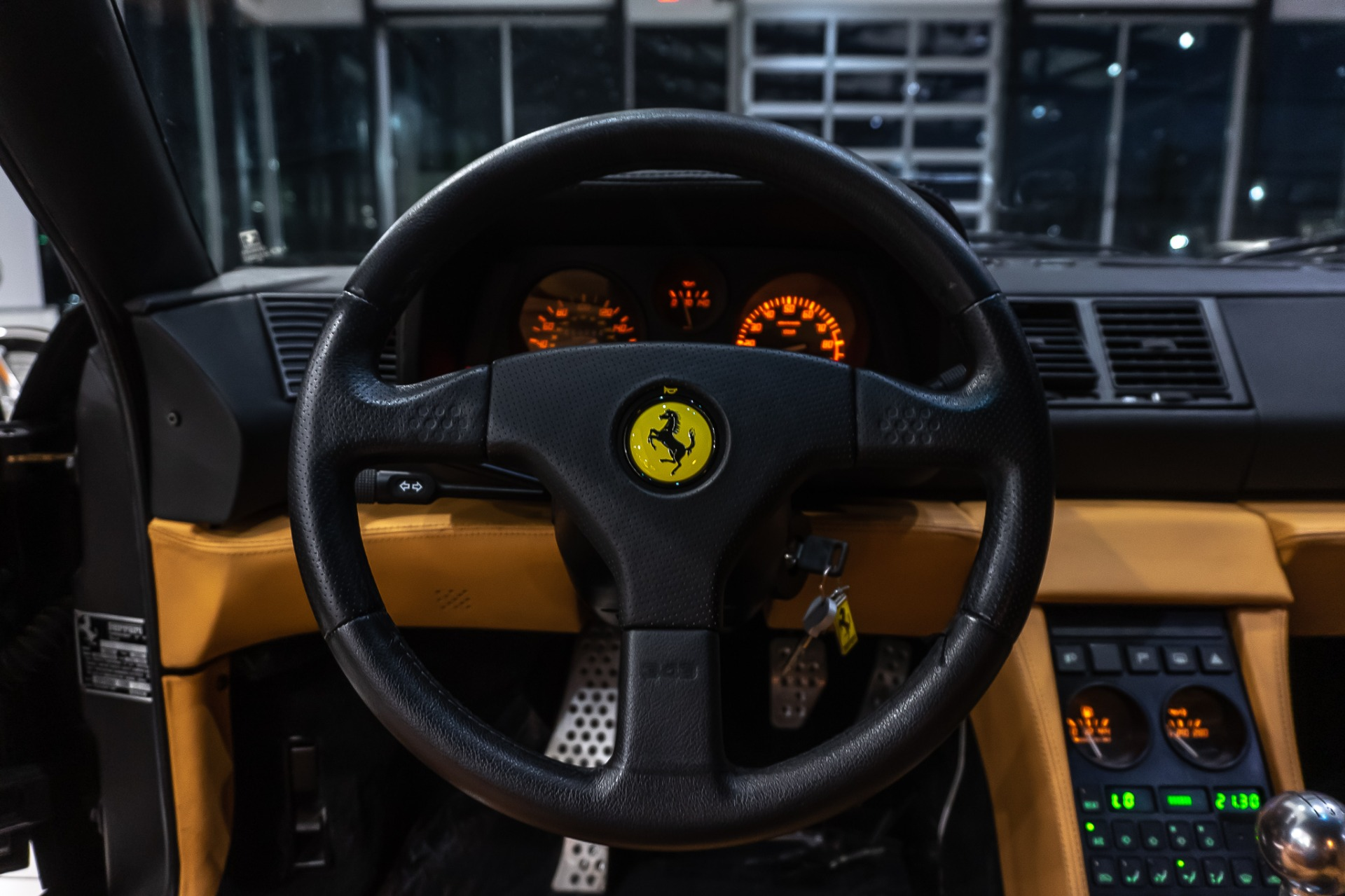Used-1990-Ferrari-348-TS-Gated-5-Speed-Just-Serviced-wRecords