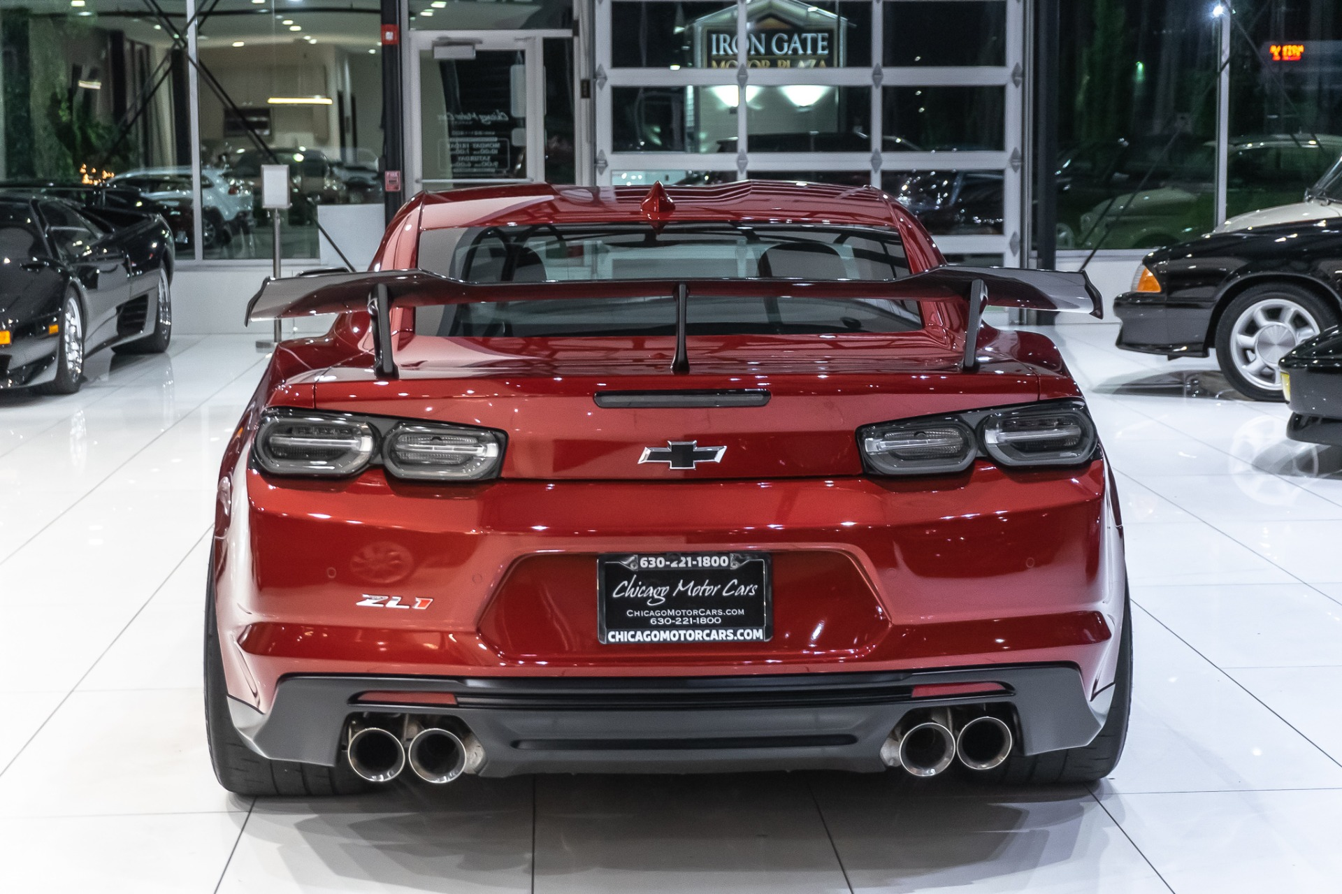 Used-2019-Chevrolet-Camaro-ZL1-1LE-ONLY-161-MILES