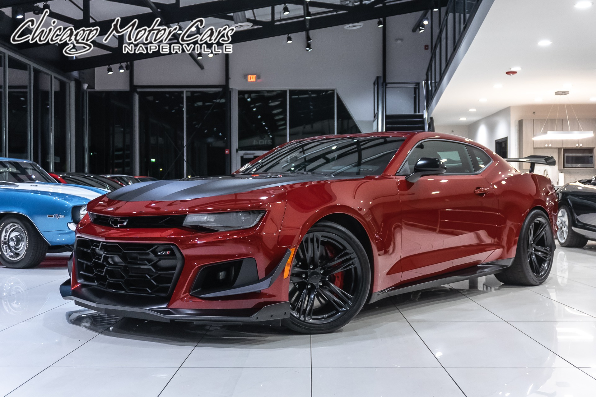 Used 2019 Chevrolet Camaro Zl1 1le Only 161 Miles For Sale Special Pricing Chicago Motor Cars Stock 17351