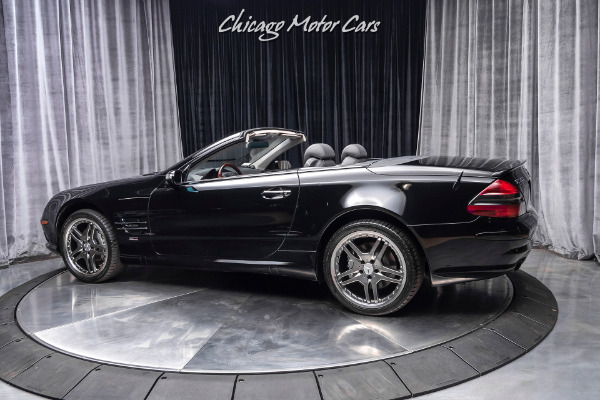Used-2004-Mercedes-Benz-SL600-Convertible-V12-RENNtech-STAGE-1-Only-24K-Miles-BLACK