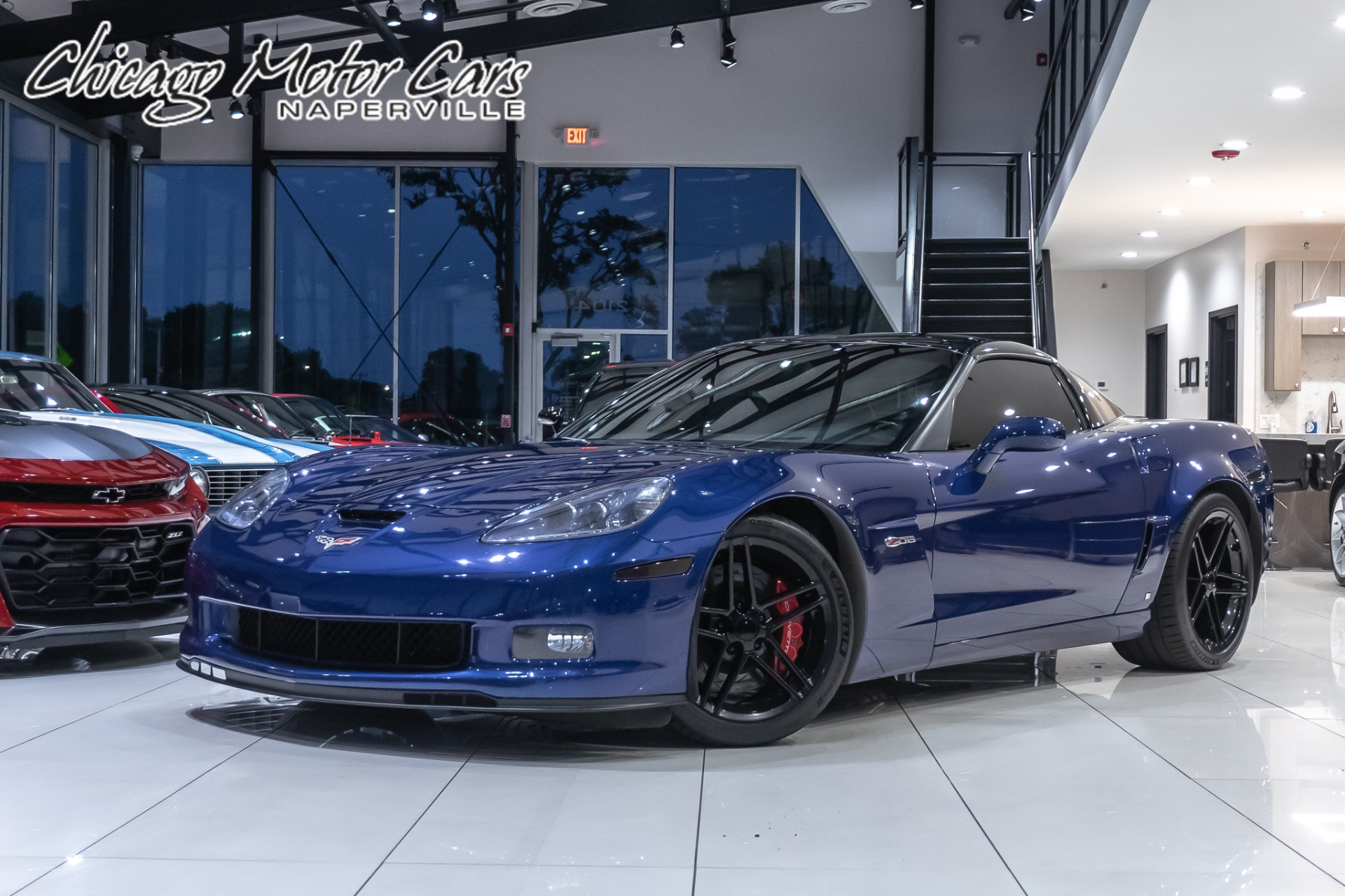 Used 2006 Chevrolet Corvette Z06 2lz 6 Speed Manual For Sale Special Pricing Chicago Motor Cars Stock 17288