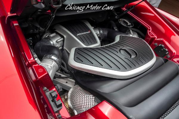 Used-2016-McLaren-650S-Spider-Loaded-with-Carbon-Fiber-Rare-Volcano-Red-Elite