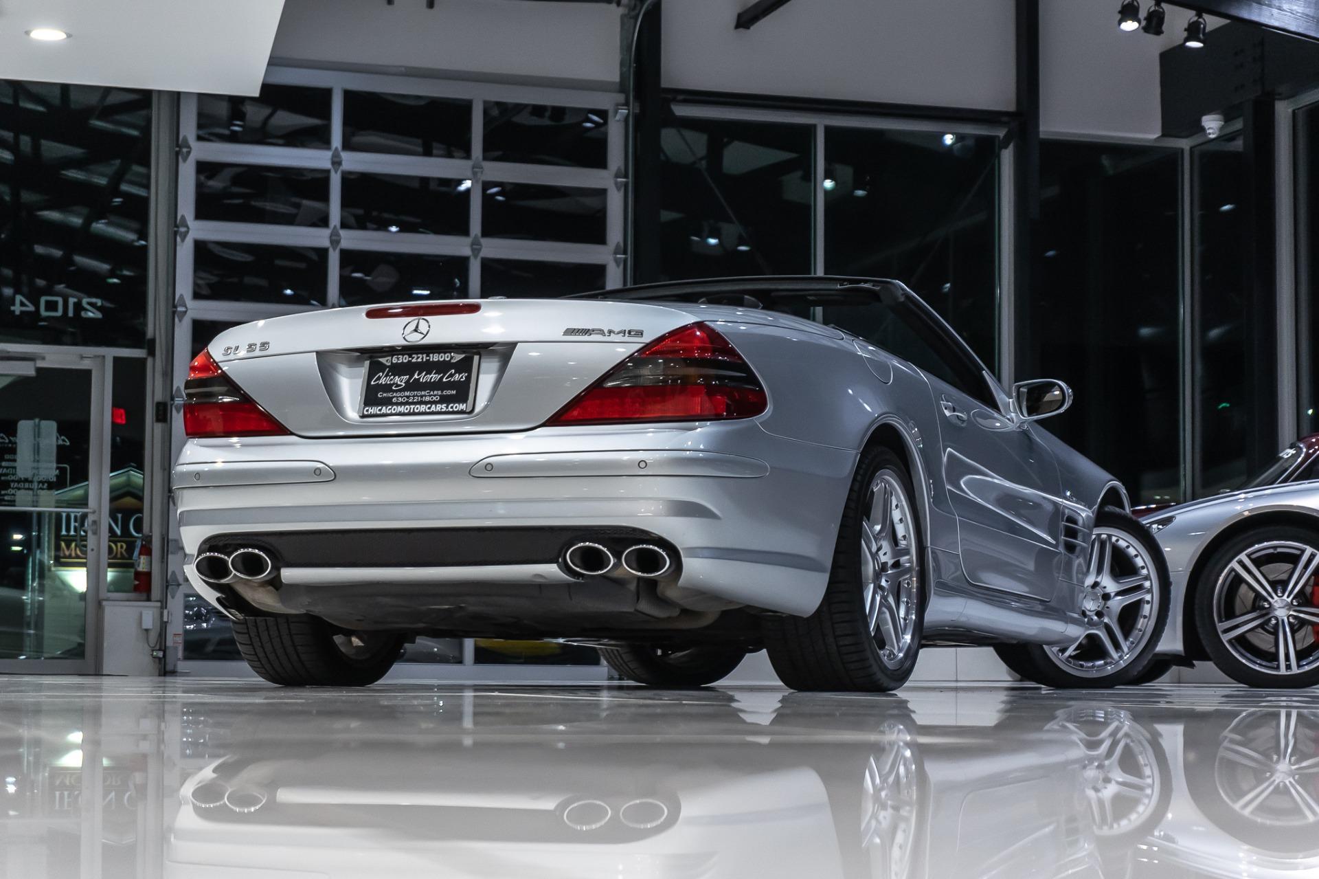 Used-2006-Mercedes-Benz-SL55-AMG-Roadster-P30-PERFORMANCE-PKG