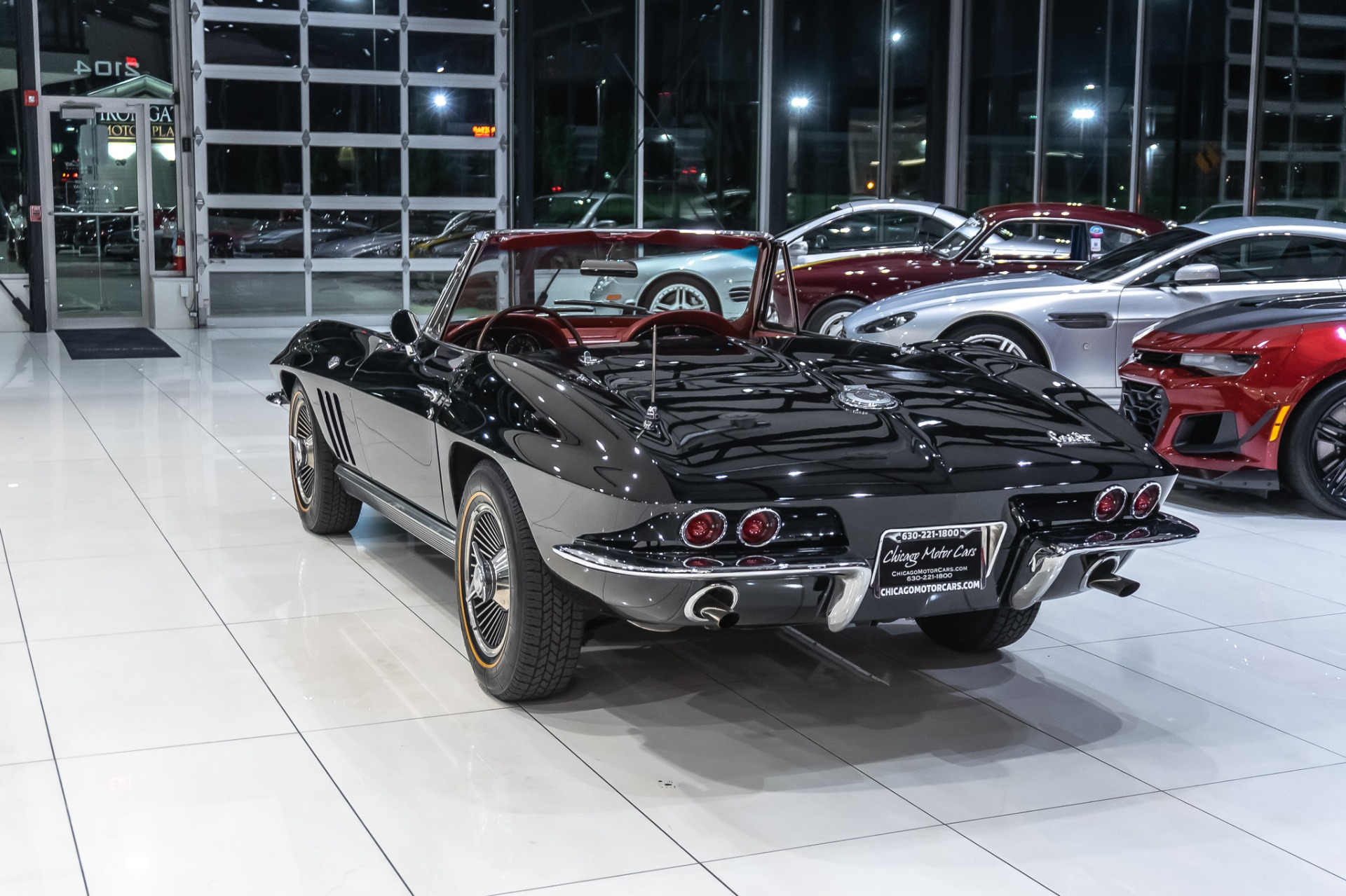 Used-1966-Chevrolet-Corvette-Stingray-Convertible-Numbers-Matching-327ci-4-Speed-Restored-Former-NHL-Players
