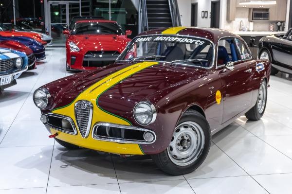 Used-1962-Alfa-Romeo-Giuliette--Sprint-101-Series-Veloce-Rally-Car-Fully-Restored