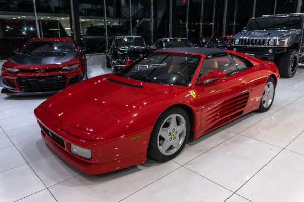 Used-1990-Ferrari-348-TS-GATED-5--SPEED-JUST-SERVICED-LOW-MILES