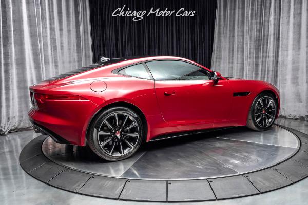 Used-2017-Jaguar-F-TYPE-Premium-VISION-PKG-Only-22K-Miles-ITALIAN-RACING-RED