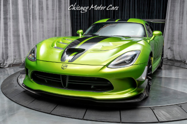 Used-2017-Dodge-Viper-ACR-Extreme-Aero-SNAKESKIN-Edition-Pkg-Only-86-Miles-Collector-Quality