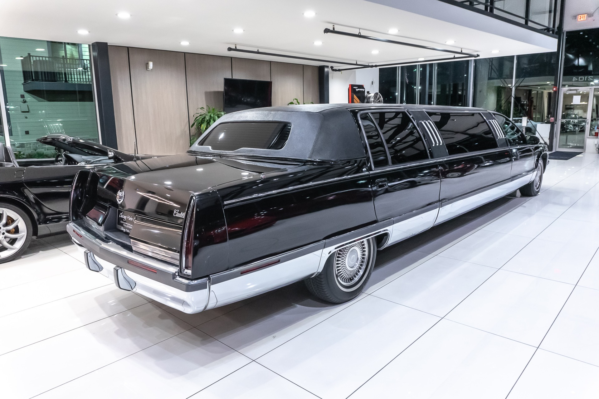 Used-1996-Cadillac-Fleetwood-Limousine-Rear-Partition-Private-Use-Only-Serviced