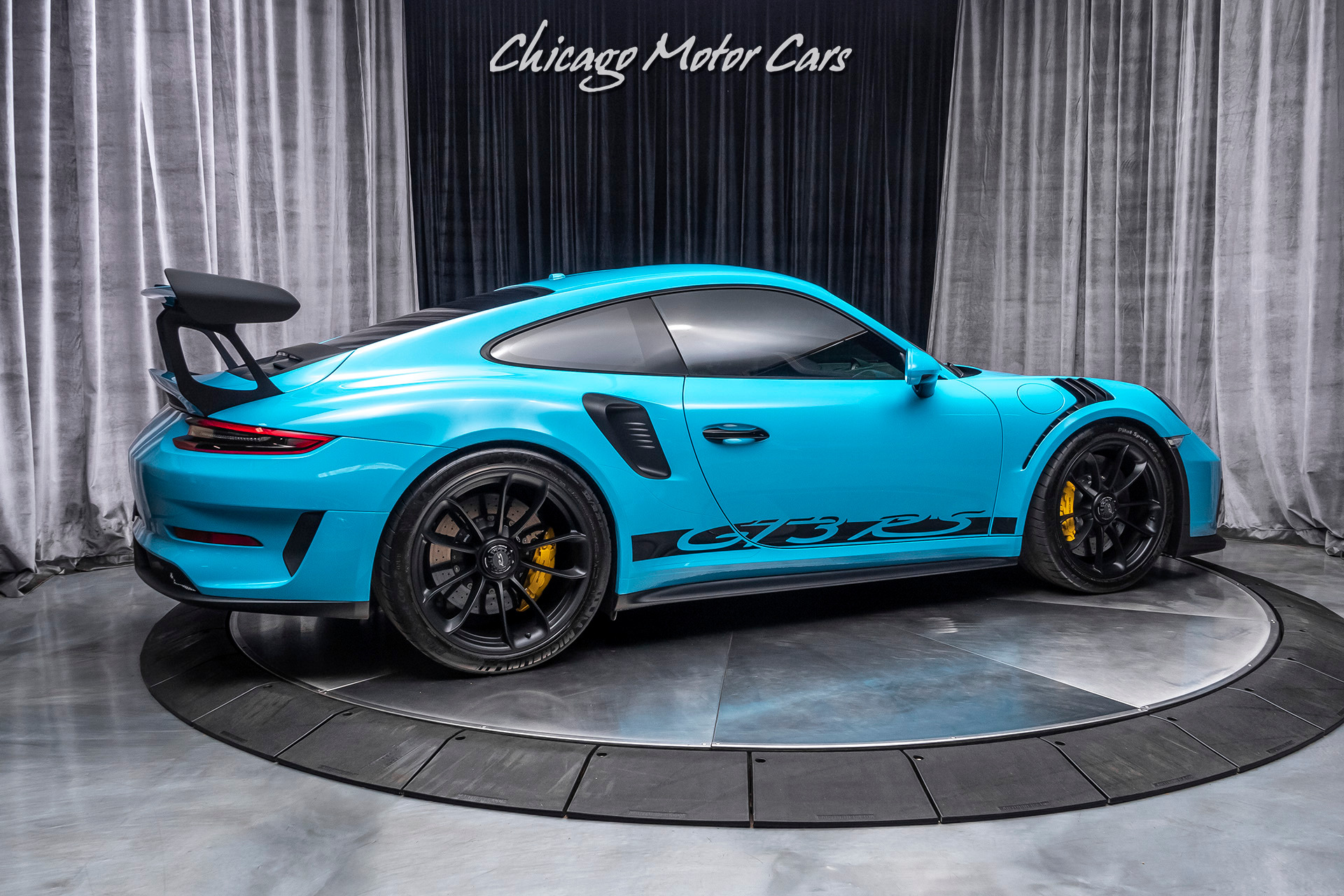Used 2019 Porsche 911 GT3 RS Coupe - Miami Blue! Only 2800 ...