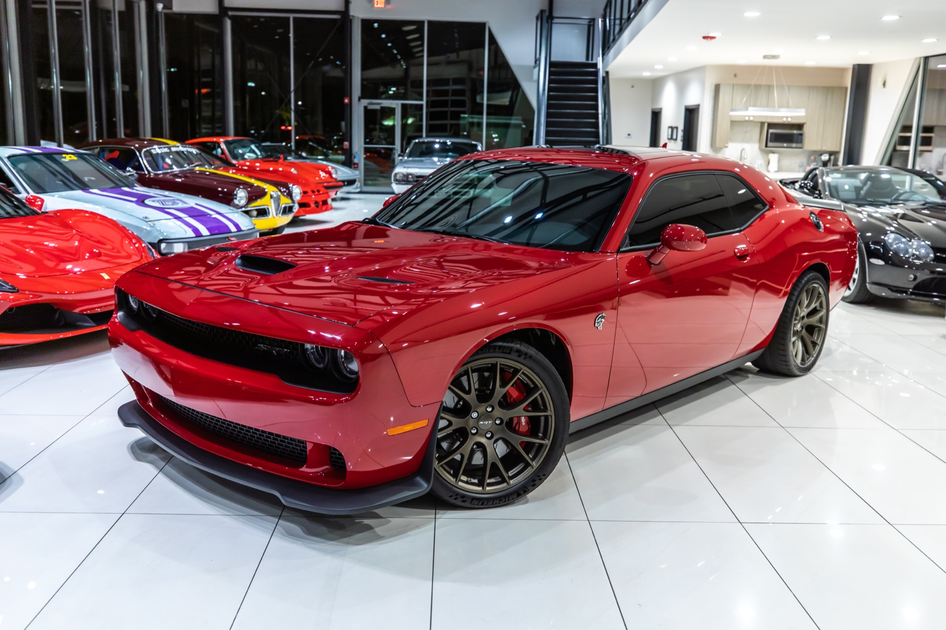 dodge hellcat for sale chicago Used 2016 Dodge Challenger SRT Hellcat 8-SPEED AUTOMATIC