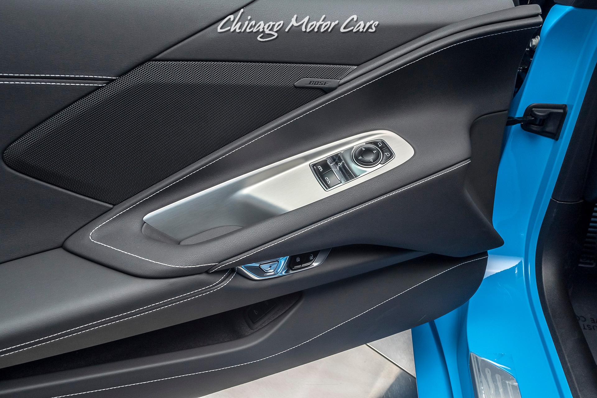 Used-2020-Chevrolet-Corvette-Stingray-RARE-Rapid-Blue-LOW-Miles-Performance-Exhaust