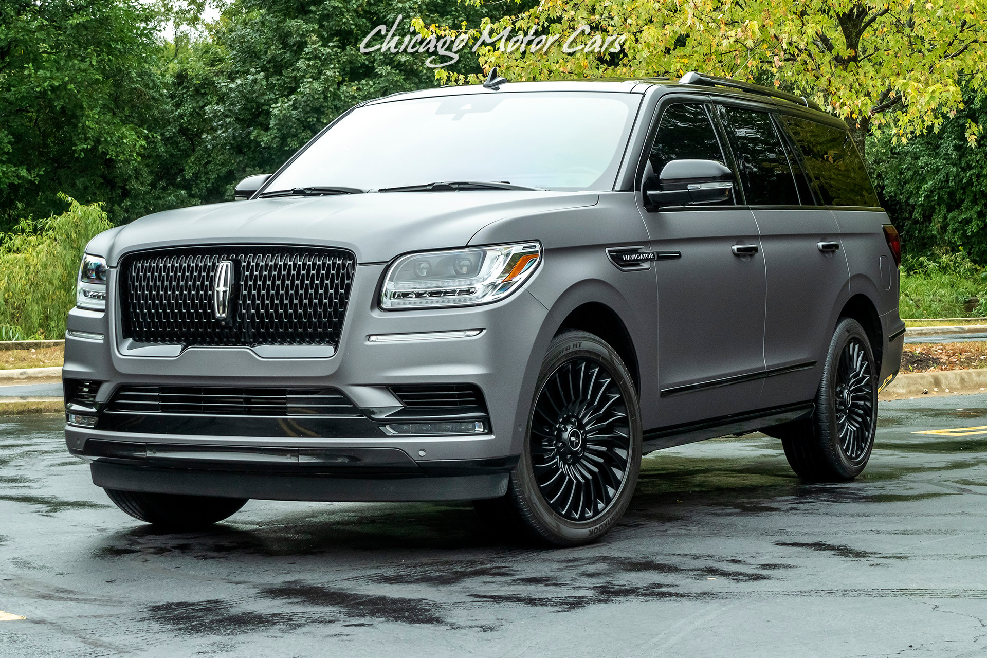Used-2018-Lincoln-Navigator-Black-Label-Matte-Black-Wrap-Rear-Entertainment
