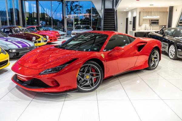 Used-2020-Ferrari-F8-Tributo-Full-Front-PPF-Like-New