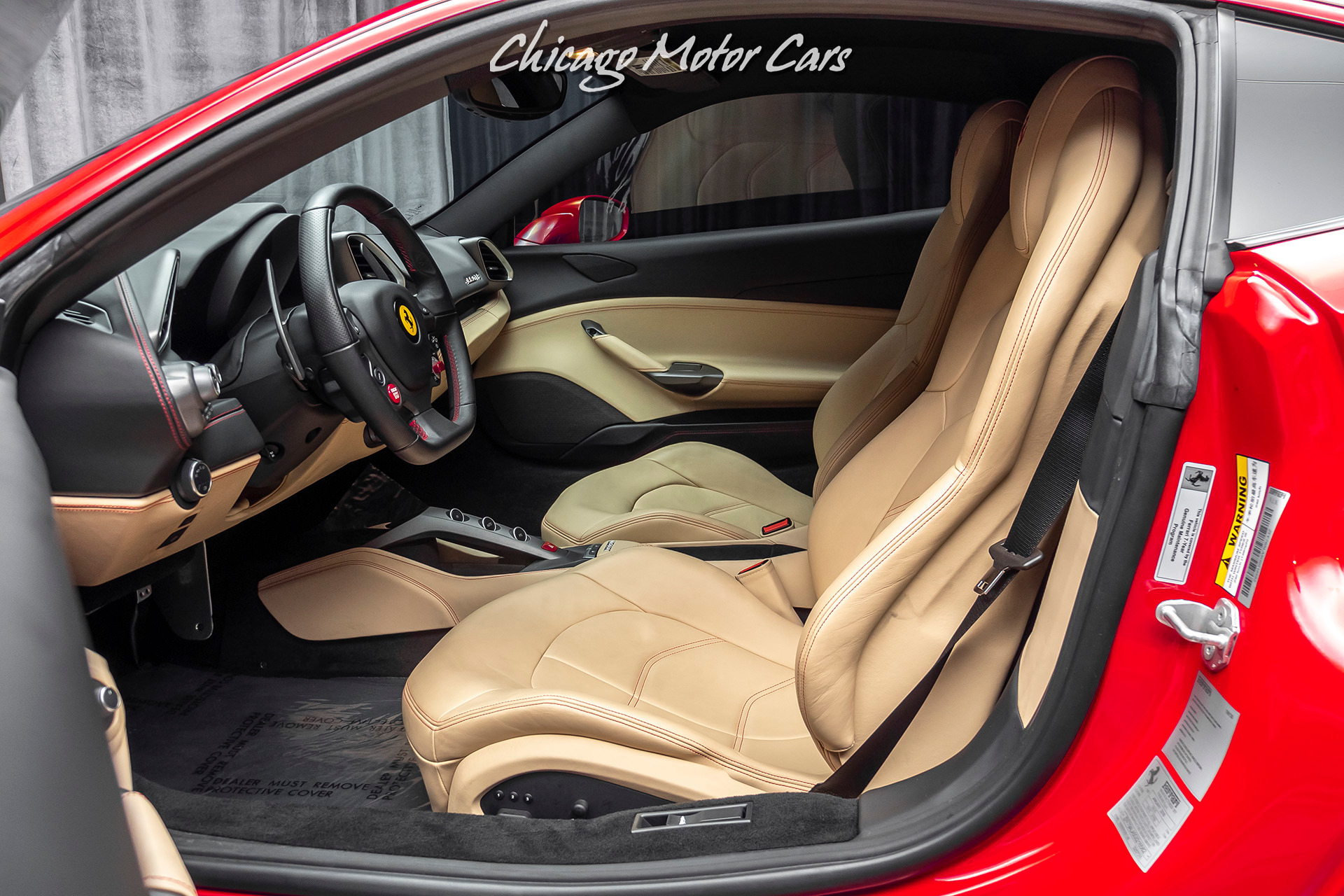 Used-2016-Ferrari-488-GTB-Coupe---ONLY-2K-MILES-BEAUTIFUL-COLOR-COMBO-FULL-ELECTRIC-SEATS