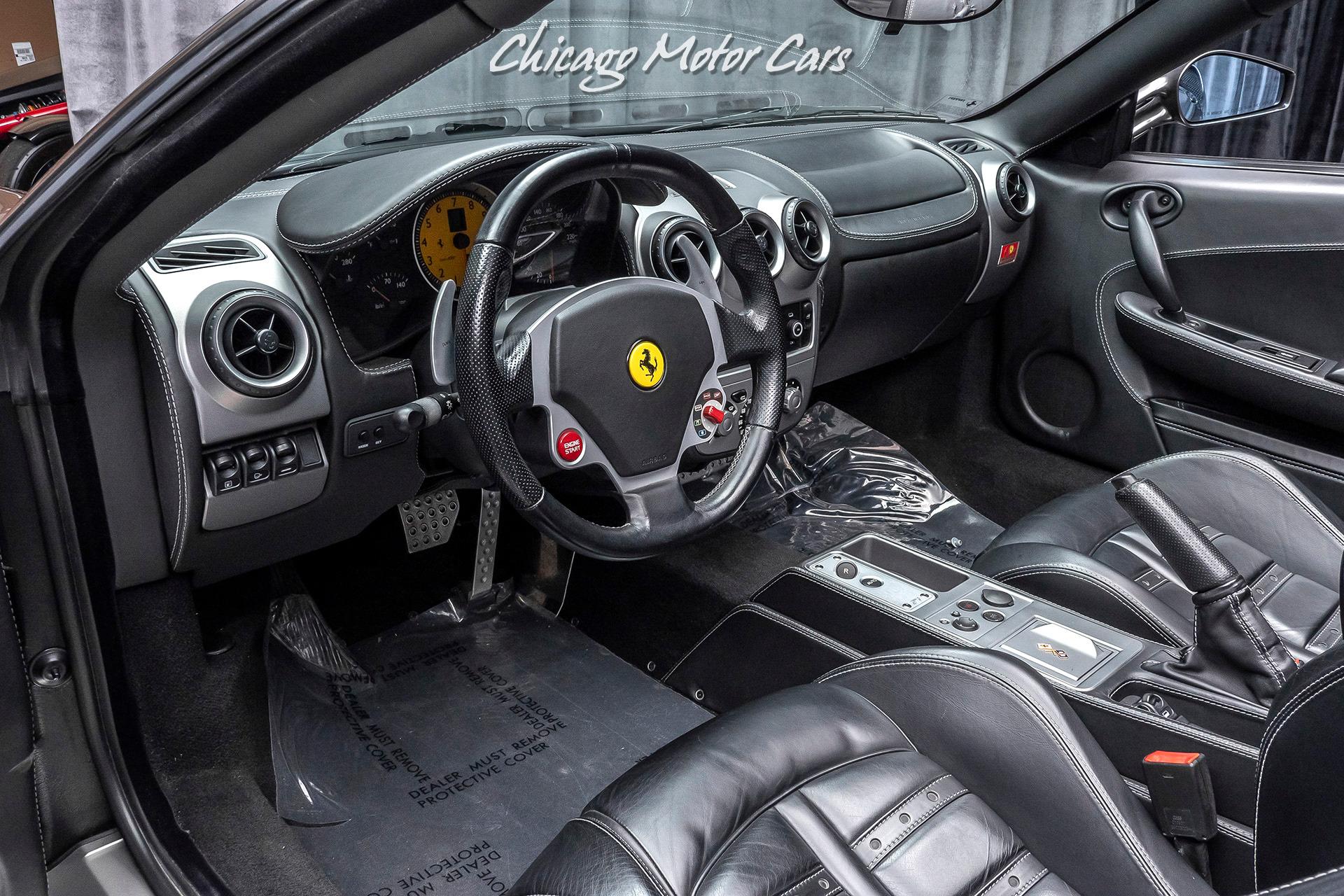 Used-2007-Ferrari-F430-F1-Spider-Only-12k-Miles-Daytona-Style-Seats-Fab-Speed-Exhaust