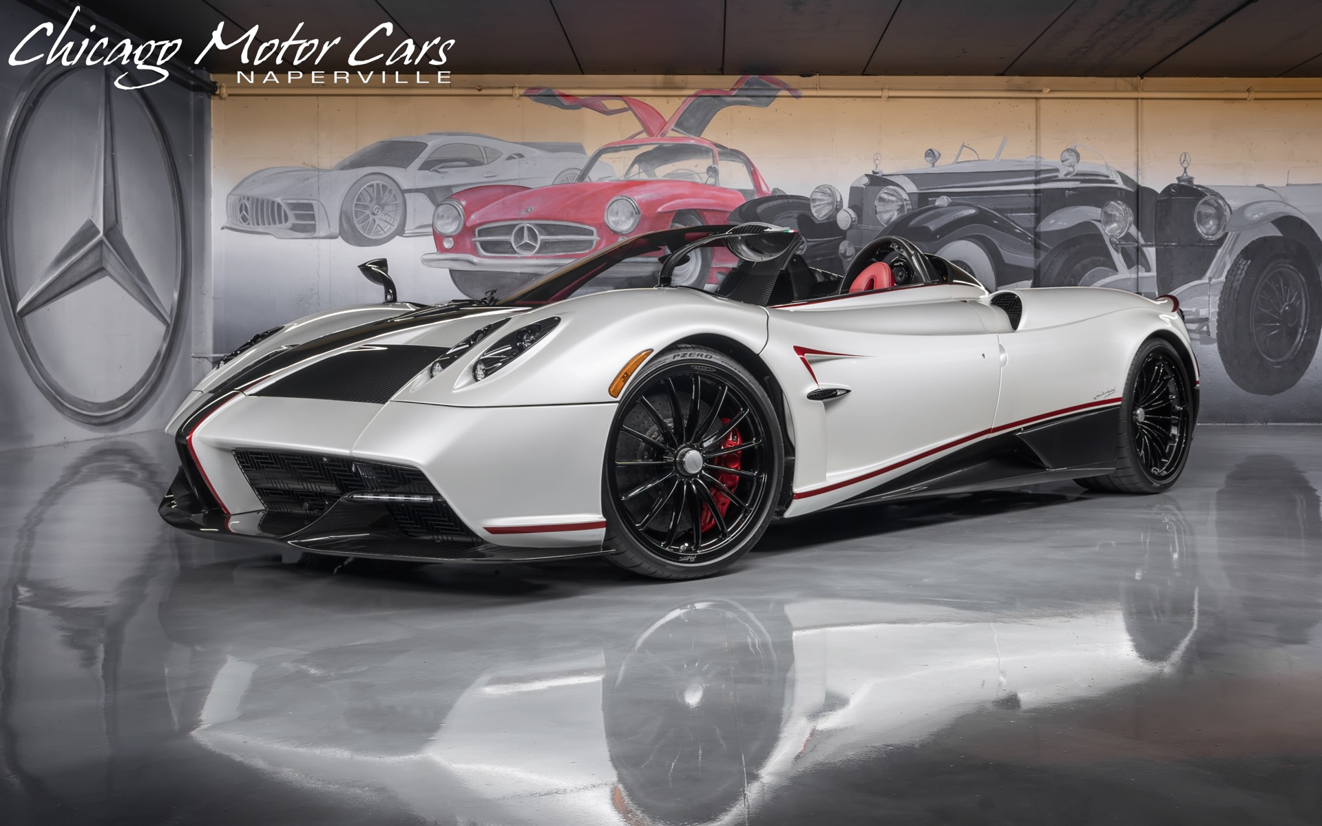 Used 2017 Pagani Huayra Roadster 1 Of 100 Made Only 151 Miles Collector Grade Just Serviced For Sale Special Pricing Chicago Motor Cars Stock 17557