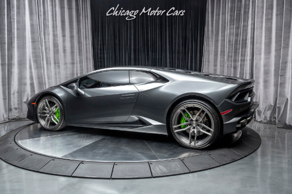 Used-2018-Lamborghini-Huracan-LP580-2-Coupe-MSRP-234K-Tech-Package-5k-Miles-UPGRADED-Wheels---Exhaust