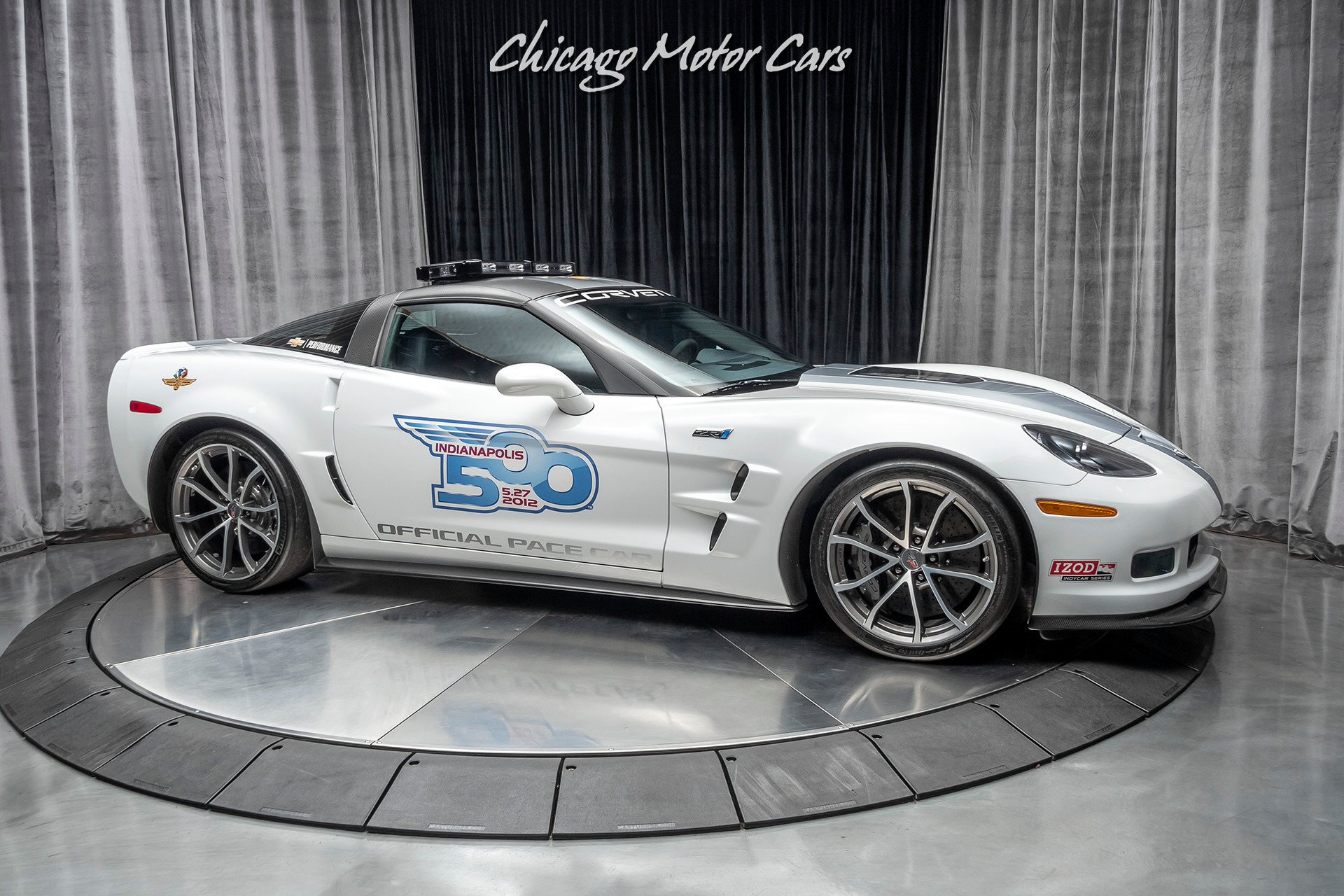Used-2013-Chevrolet-Corvette-ZR1-3ZR-TRIBUTE-PACE-CAR-Only-1200-Miles