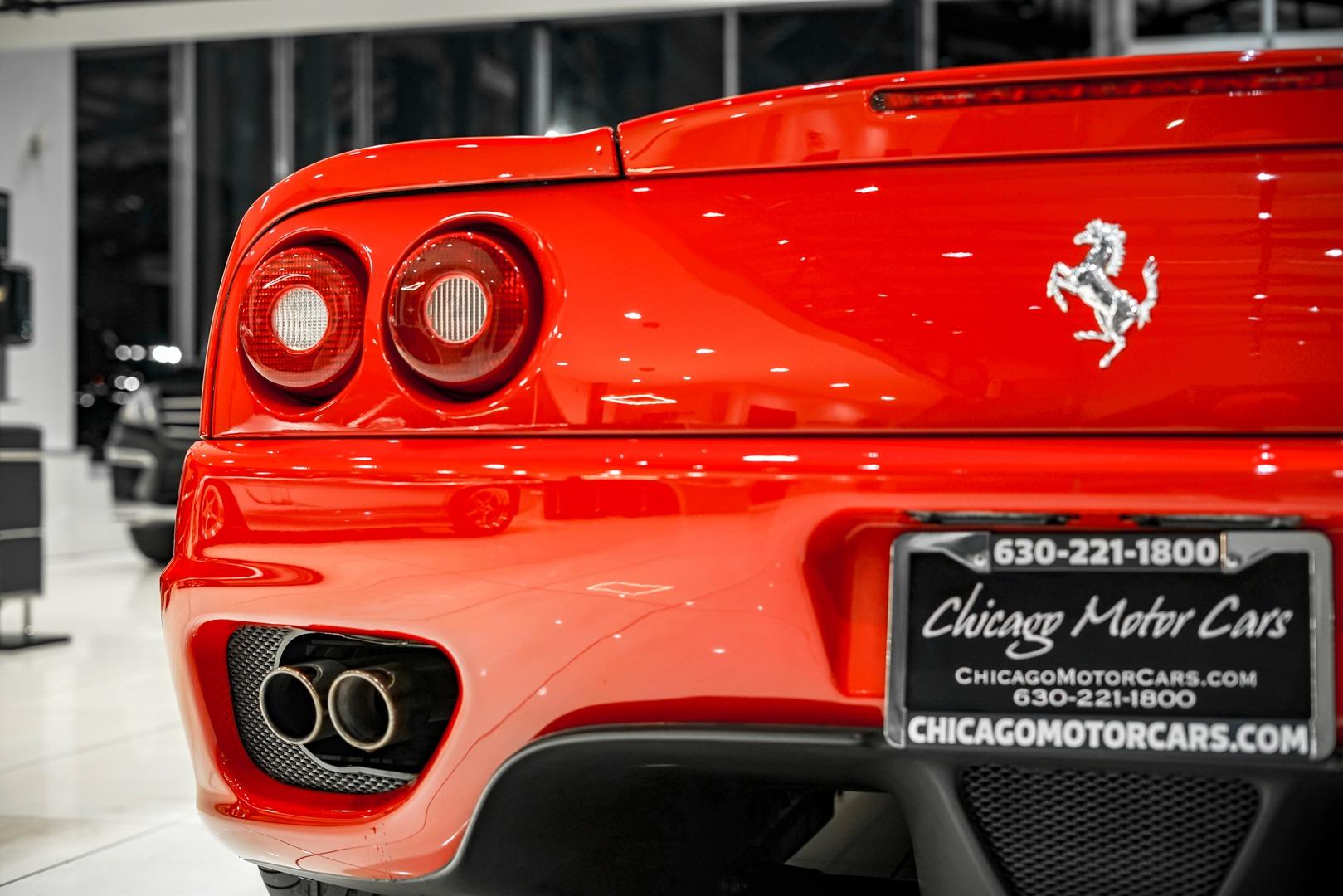 Used-1999-Ferrari-360-Modena-F1-TRANSMISSION-SERVICE-RECORDS