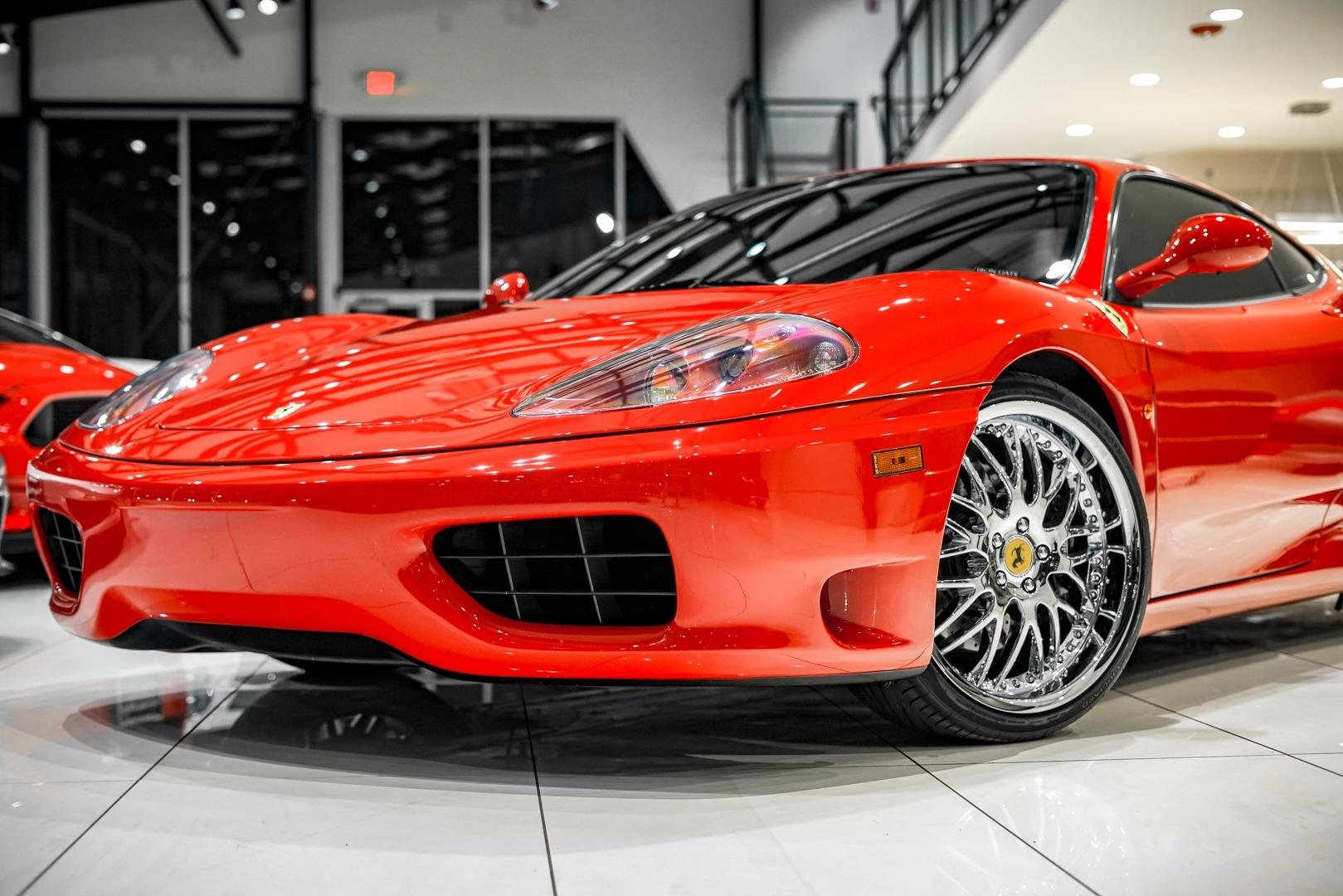 Used 1999 Ferrari 360 Modena F1 Transmission Service Records For Sale Special Pricing Chicago Motor Cars Stock 17671