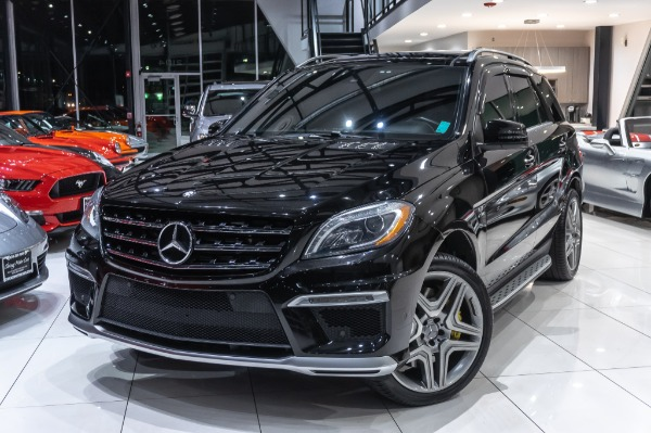 Used-2013-Mercedes-Benz-ML63-AMG-SUV-P3-PERFORMANCE-PKG-DRIVER-ASSIST-WEISTEC-TUNE-INCREDIBLE-SERVICE-RECORDS