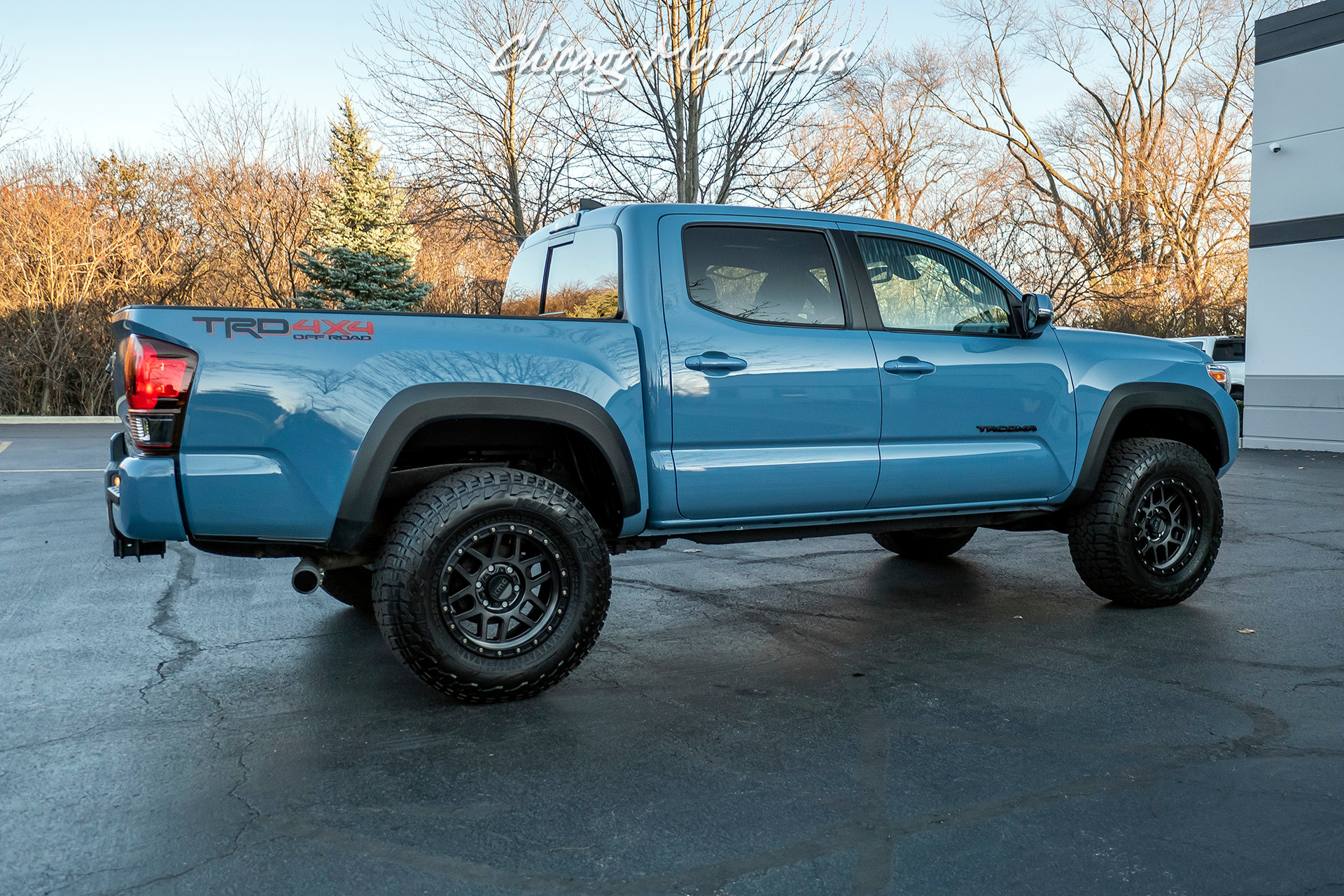 Used-2019-Toyota-Tacoma-TRD-Off-Road-4x4-Lifted-with-Upgraded-Tires-RARE-Calvary-Blue