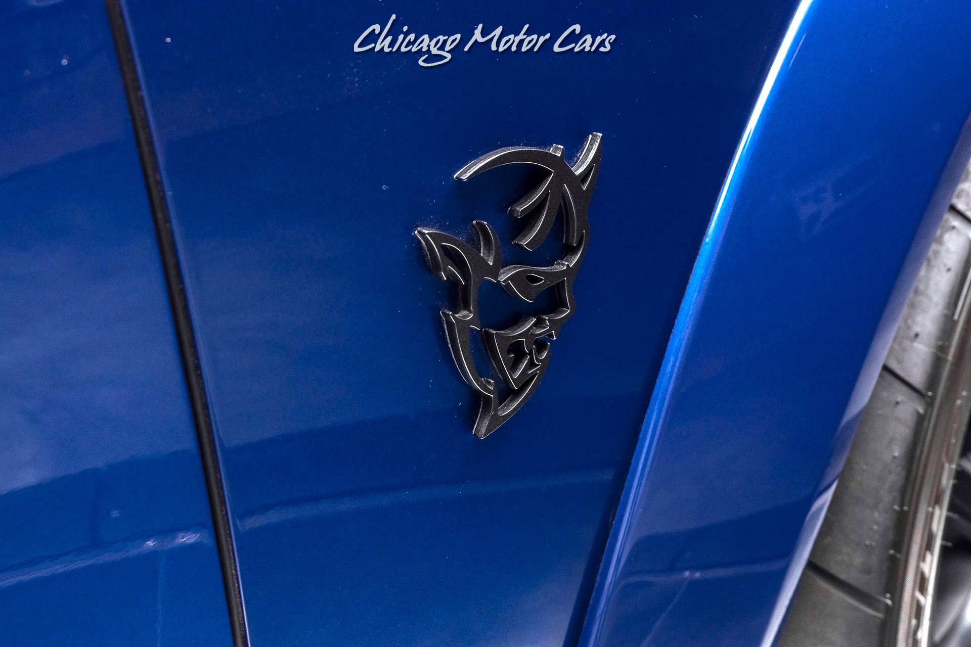 Used 2018 Dodge Challenger Srt Demon Rare Indigo Blue Paint Demon Crate Only 600 Miles For Sale 129 800 Chicago Motor Cars Stock 17669