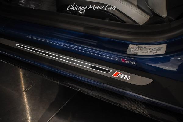 Used-2020-Audi-R8-52-quattro-V10-performance-RARE-Ascari-Blue-Gorgeous-Example-LOW-Miles