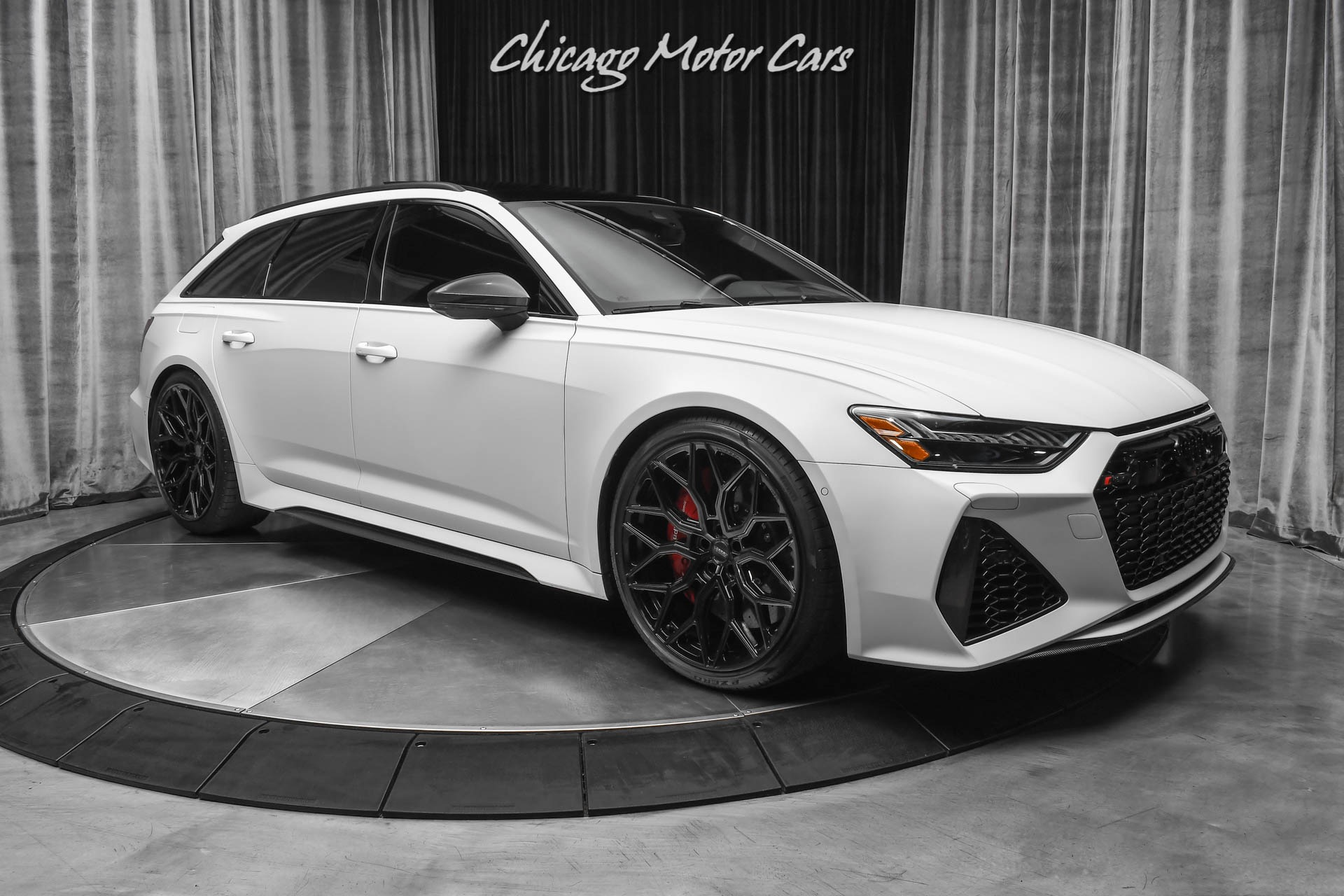 Used 2021 Audi Rs6 4 0t Quattro Avant Hatchback Loaded W Options Dme Stage 2 Tune Full Ppf For Sale Special Pricing Chicago Motor Cars Stock 17727
