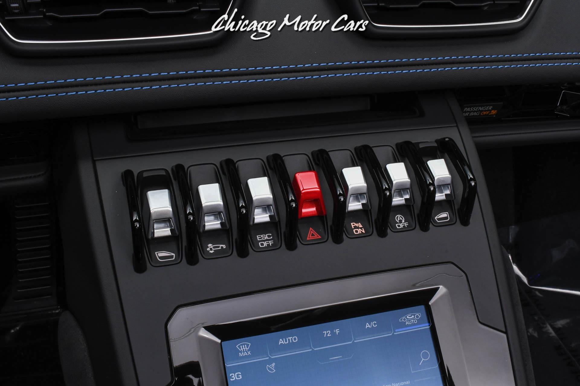 Used-2021-Lamborghini-Huracan-EVO-Spyder-Stunning-Blu-Sideris-Paint-Q-Citura-Stitching-468-Miles