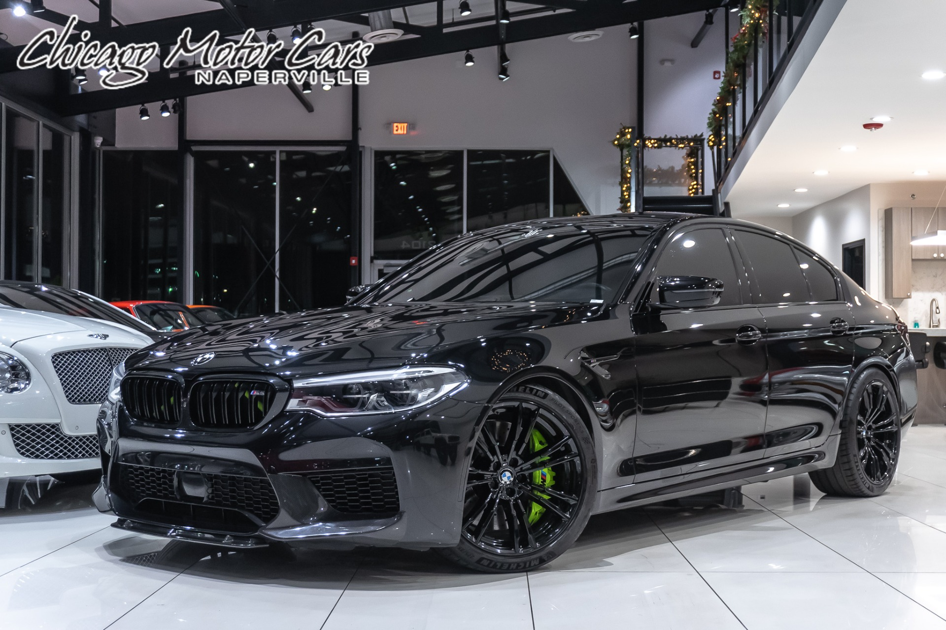 Used 2018 Bmw M5 Msrp 121k Driver Assist Executive Pkg Tune Carbon Fiber Ext Upgrades For Sale Special Pricing Chicago Motor Cars Stock 17751