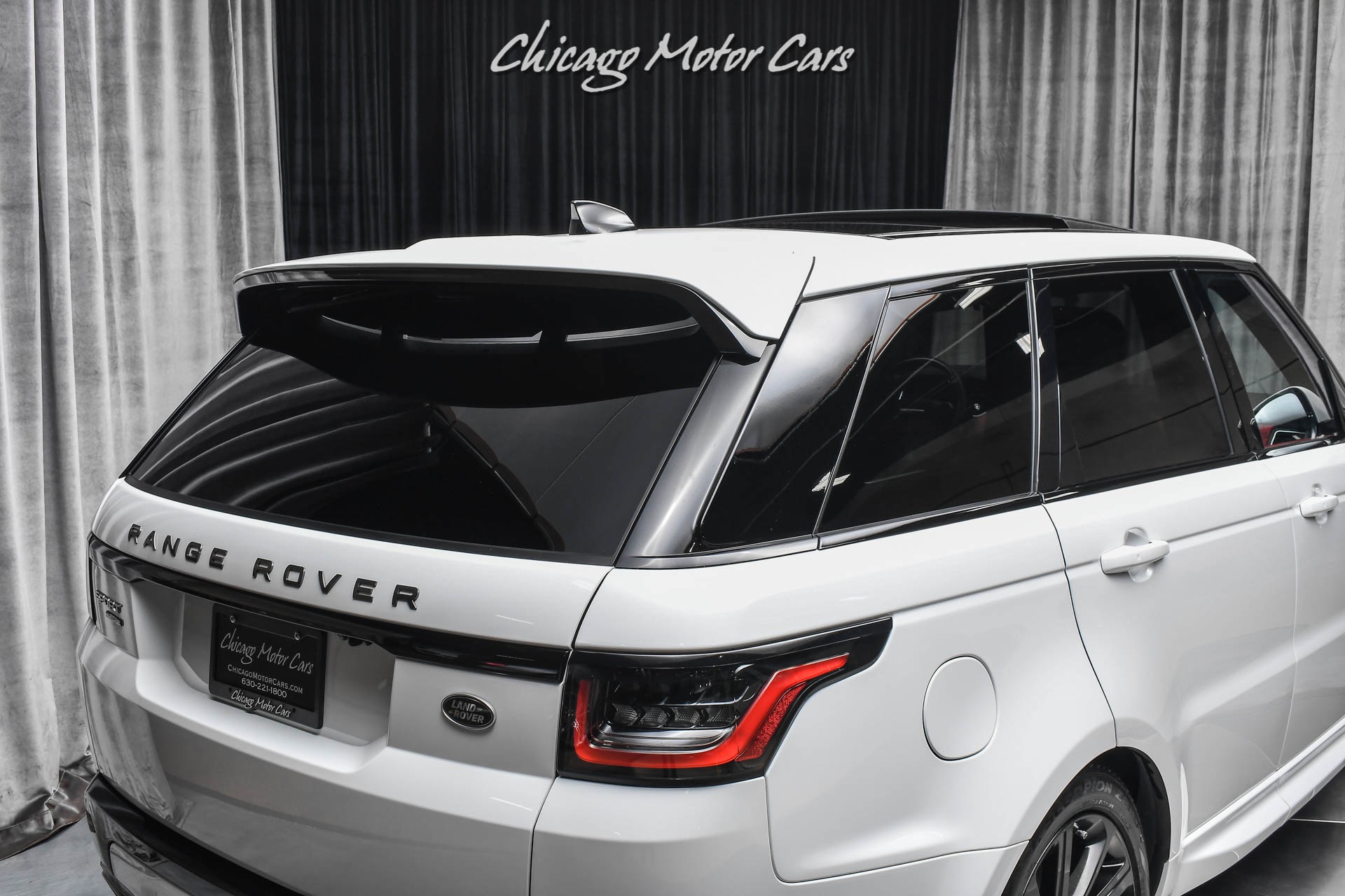 Used-2020-Land-Rover-Range-Rover-Sport-P525-HSE-Dynamic-Pearl-White-LOADED-Red-Interior-HOT