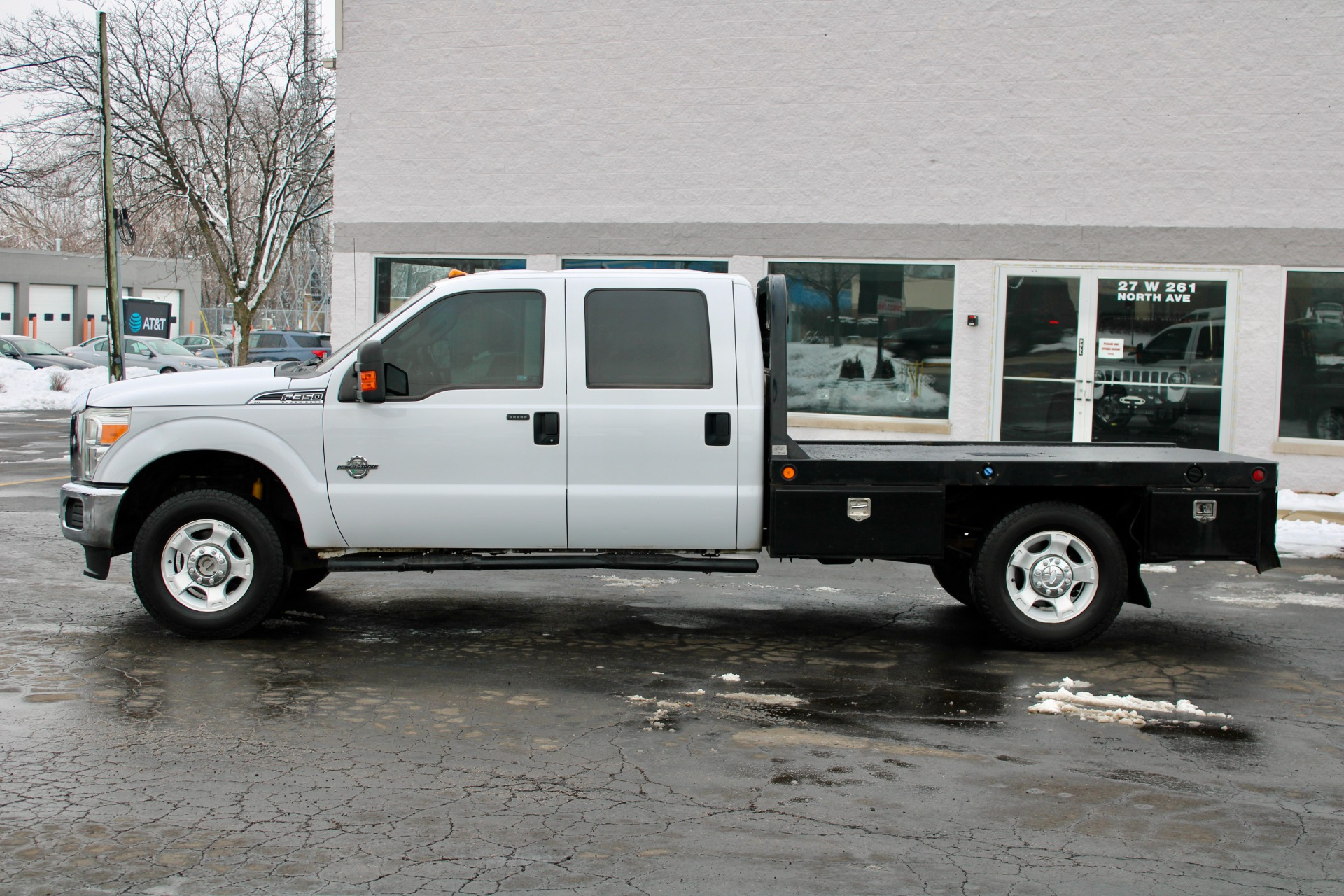 Used-2013-Ford-F-350-Super-Duty-XLT-4x4-Diesel-Flat-Bed-with-5th-Wheel