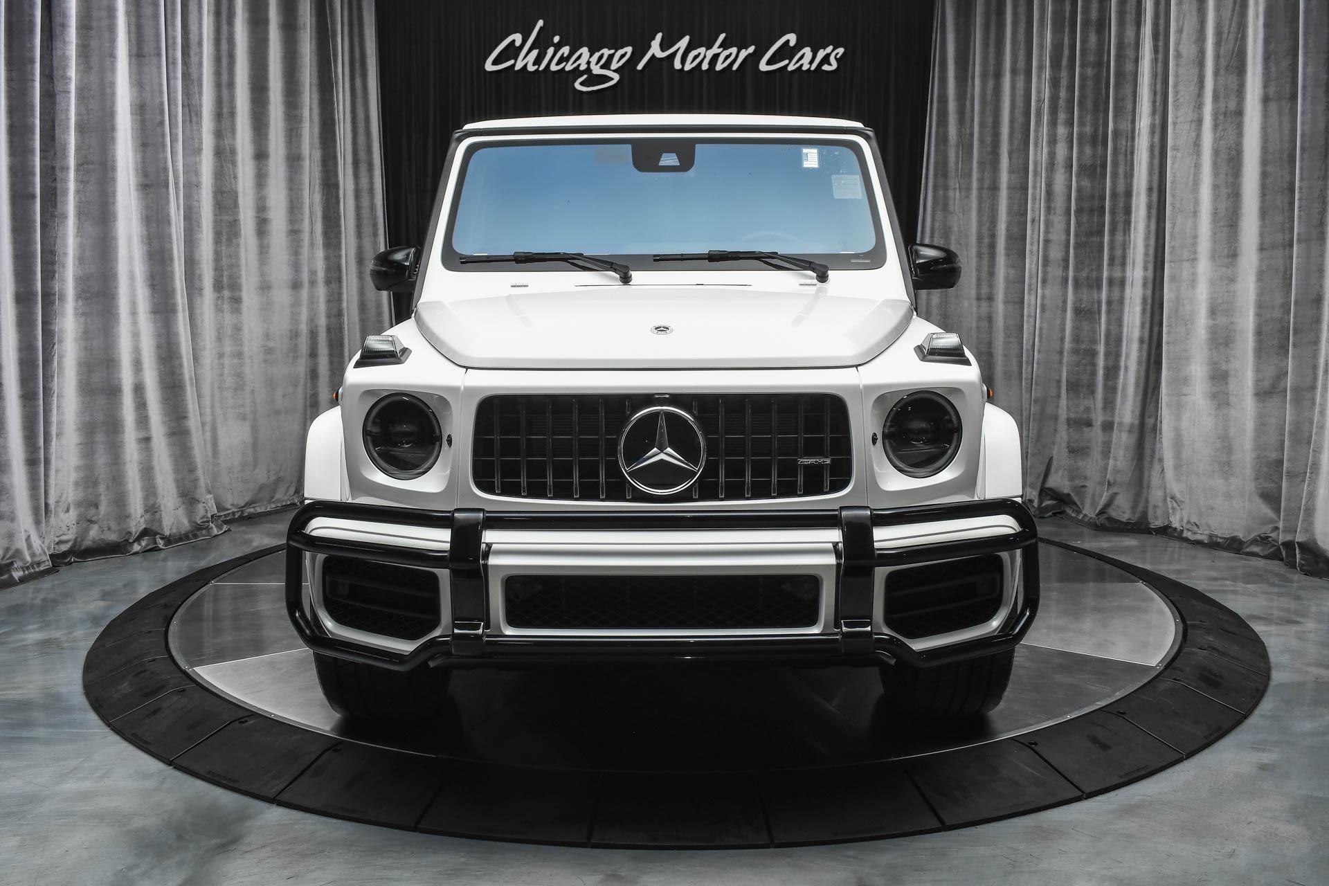 Used 2021 Mercedes-Benz G63 AMG 4 Matic SUV designo Diamond White Metallic G Manufaktur Interior ...