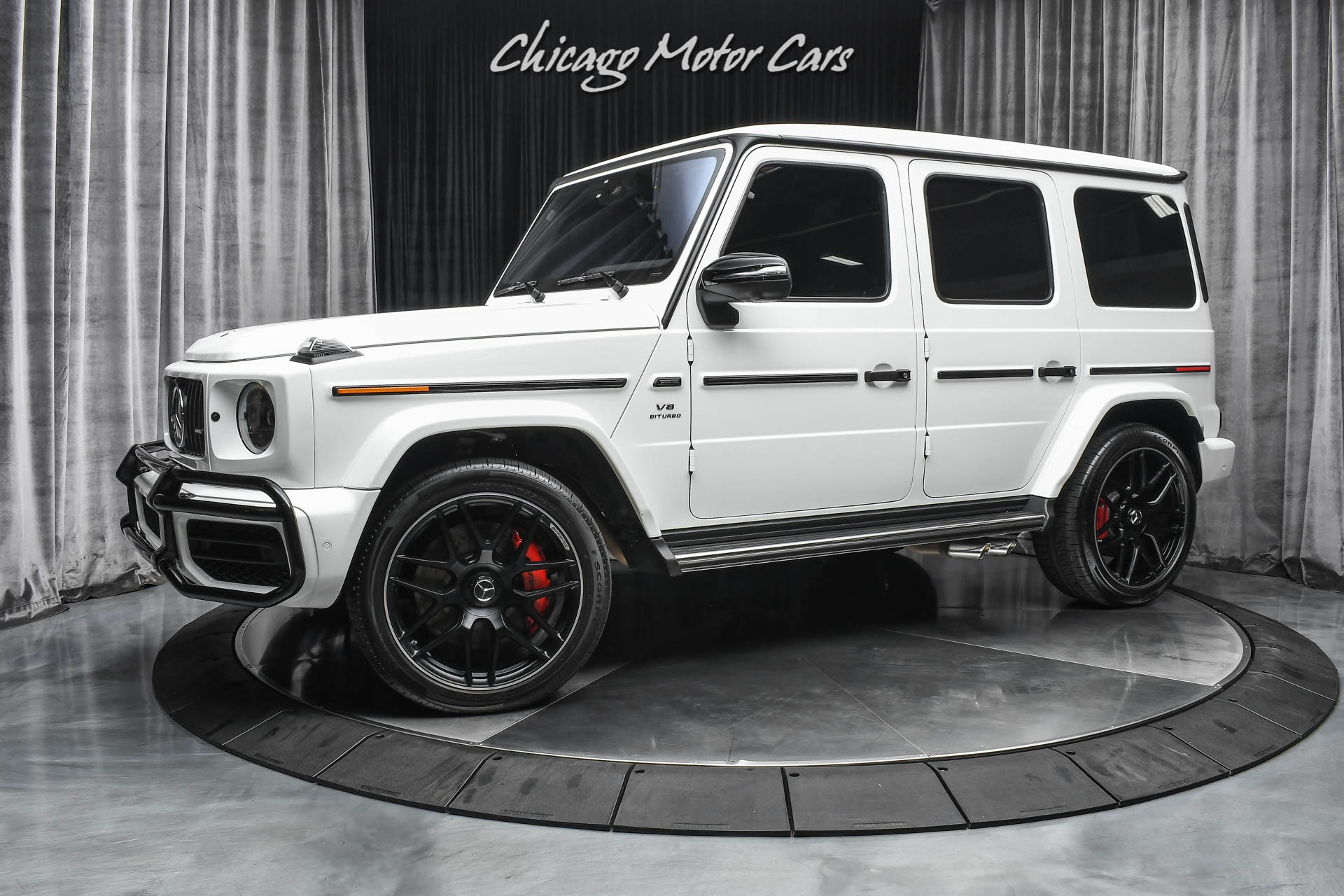 Used 2020 Mercedes Benz G Class Amg G63 G Manufaktur Interior Package Hot White On Red Carbon Fiber For Sale Special Pricing Chicago Motor Cars Stock Lx353193