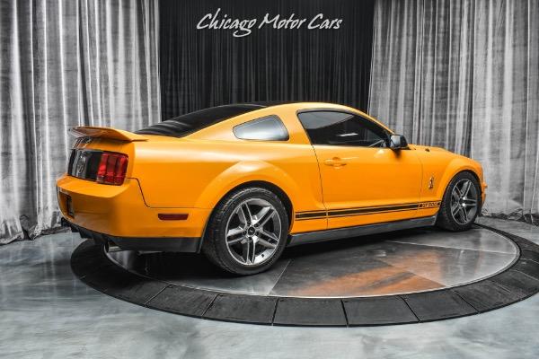 Used-2009-Ford-Shelby-GT500-Kooks-Longtube-Headers-and-XPipe-Rare-Grabber-Orange