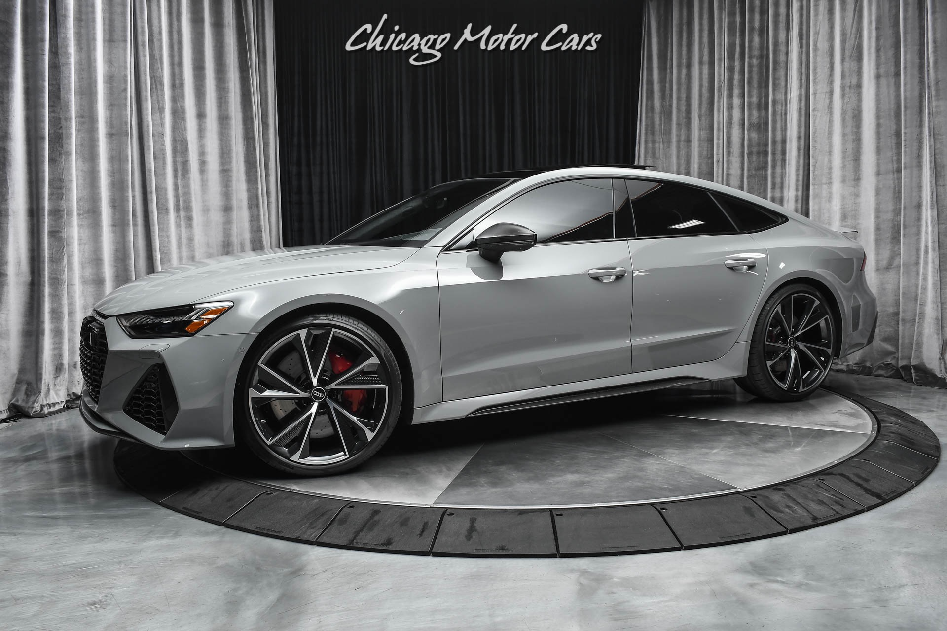 Used 2021 Audi Rs7 4 0t Quattro Loaded W Options Carbon Optic Pkg Executive Pkg B O Audio For Sale Special Pricing Chicago Motor Cars Stock Mn901859