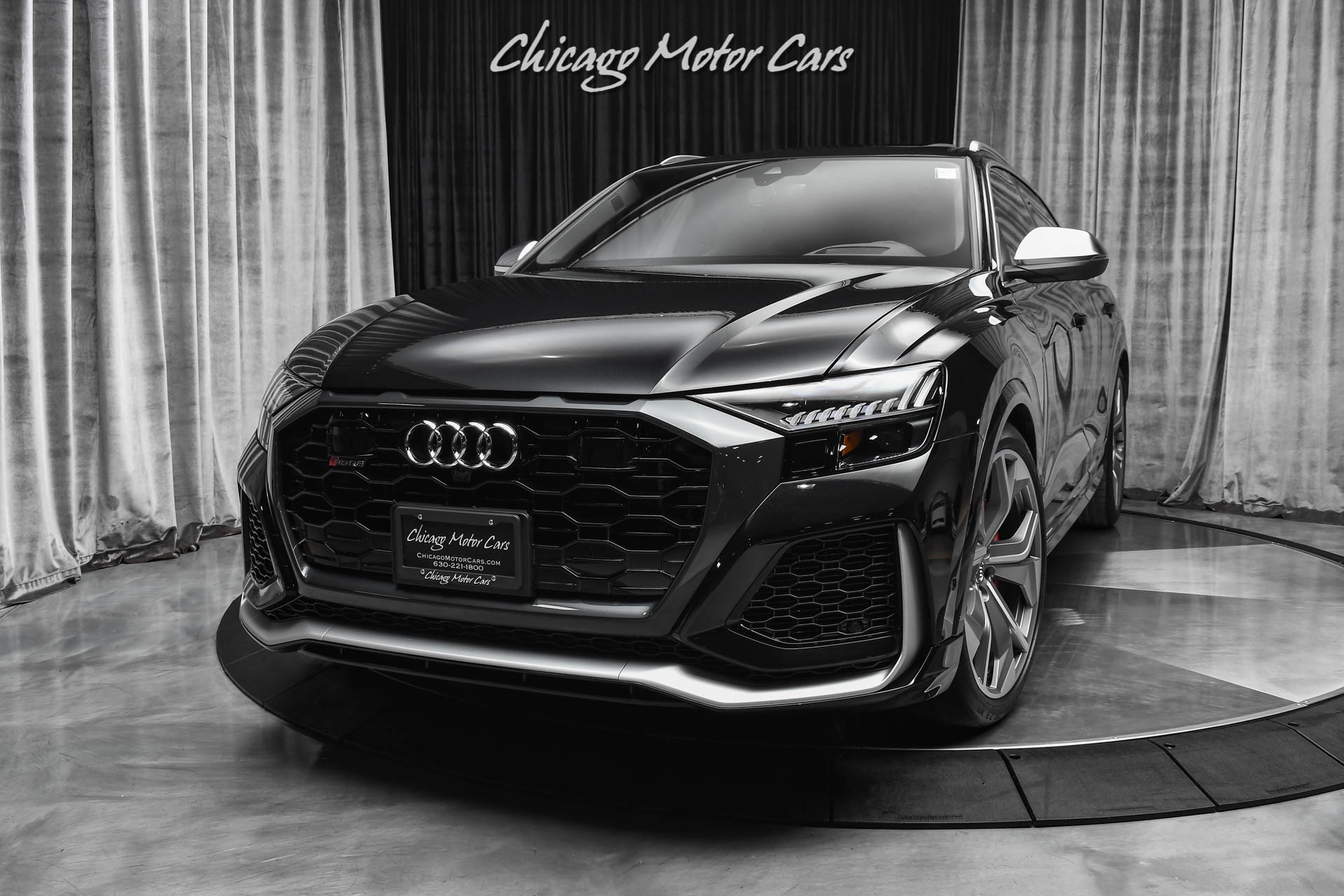 Used-2021-Audi-RS-Q8-40T-Quattro-SUV-ONLY-285-MILES-DRIVER-ASSISTANCE-PKG