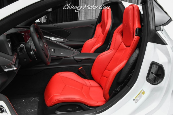 Used-2021-Chevrolet-Corvette-Stingray-Z51-Convertible-Gorgeous-White-on-Red-Z51-Package