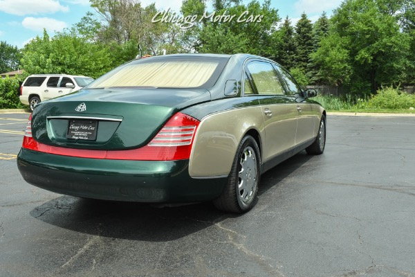 Used-2004-Maybach-62-PANO-ROOF-DUO-TONE-REAR-WINDOW-CURTAINS-LOW-MILES-PRISTINE